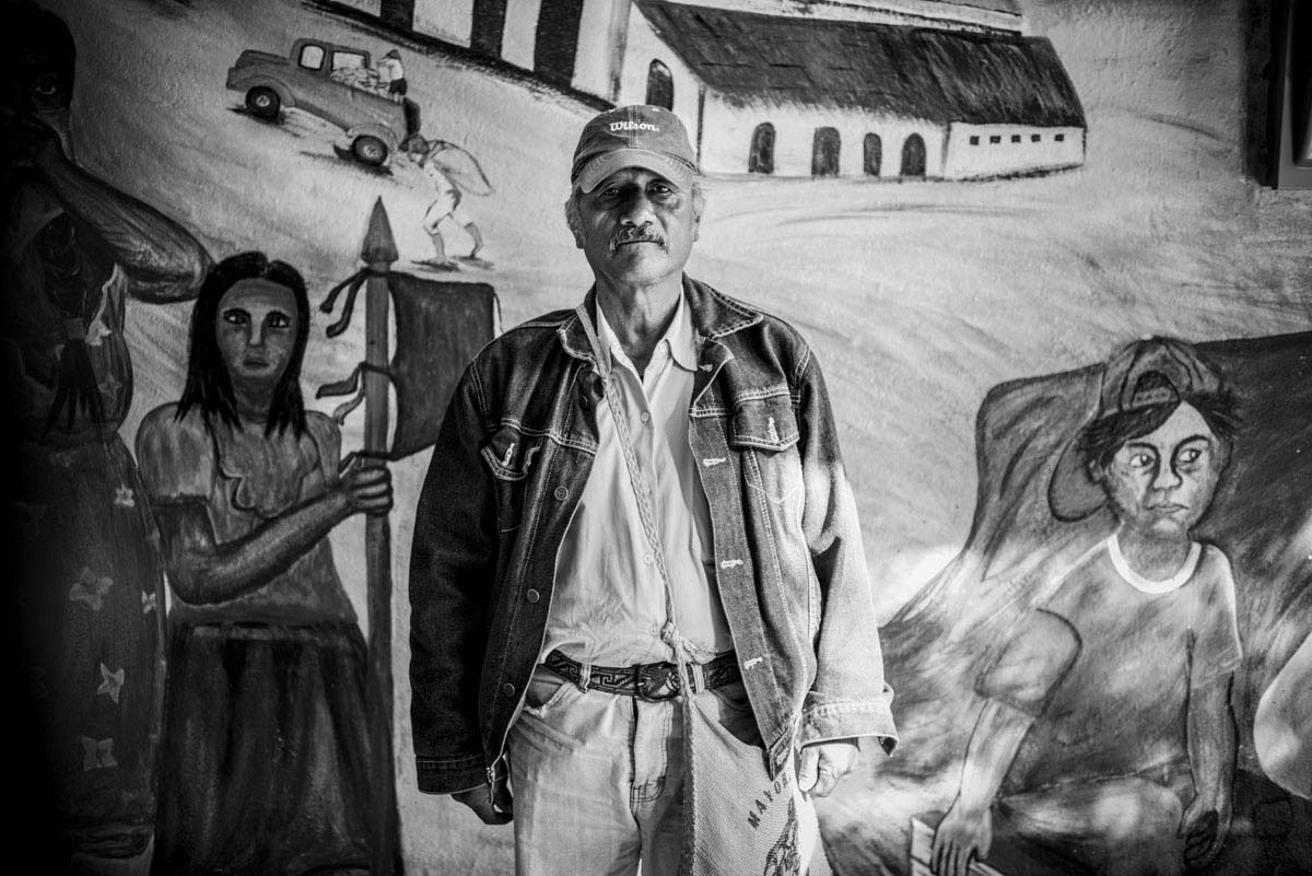 Margarito Guerrero, father of Jhosvani Guerrero, one of the 43 students who disappeared on Sept. 26 from Ayotzinapa University.