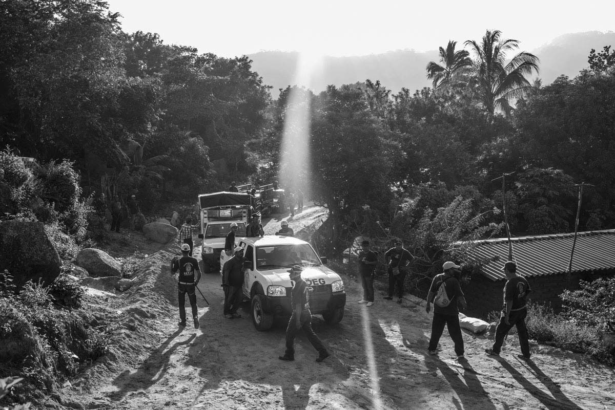 With community police searching the area, Iguala has become a massive crime scene.