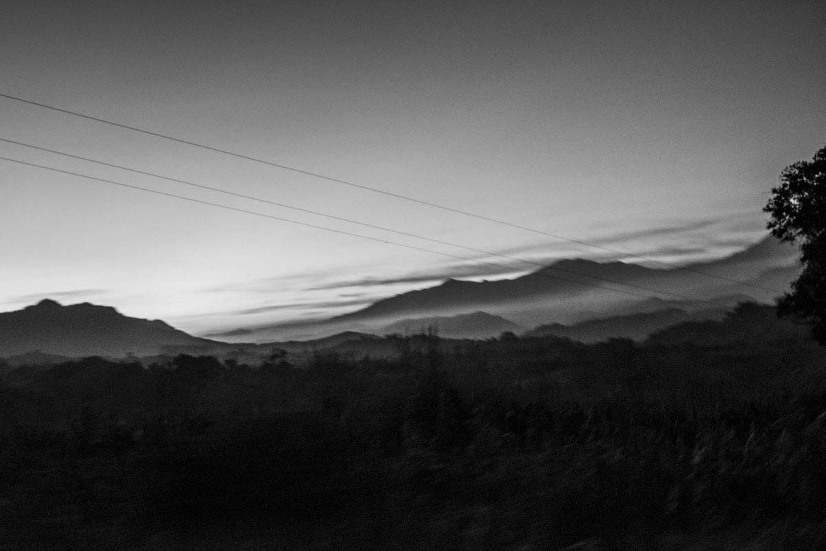 The mountains of Guerrero, where cartels and drug plantations are common.