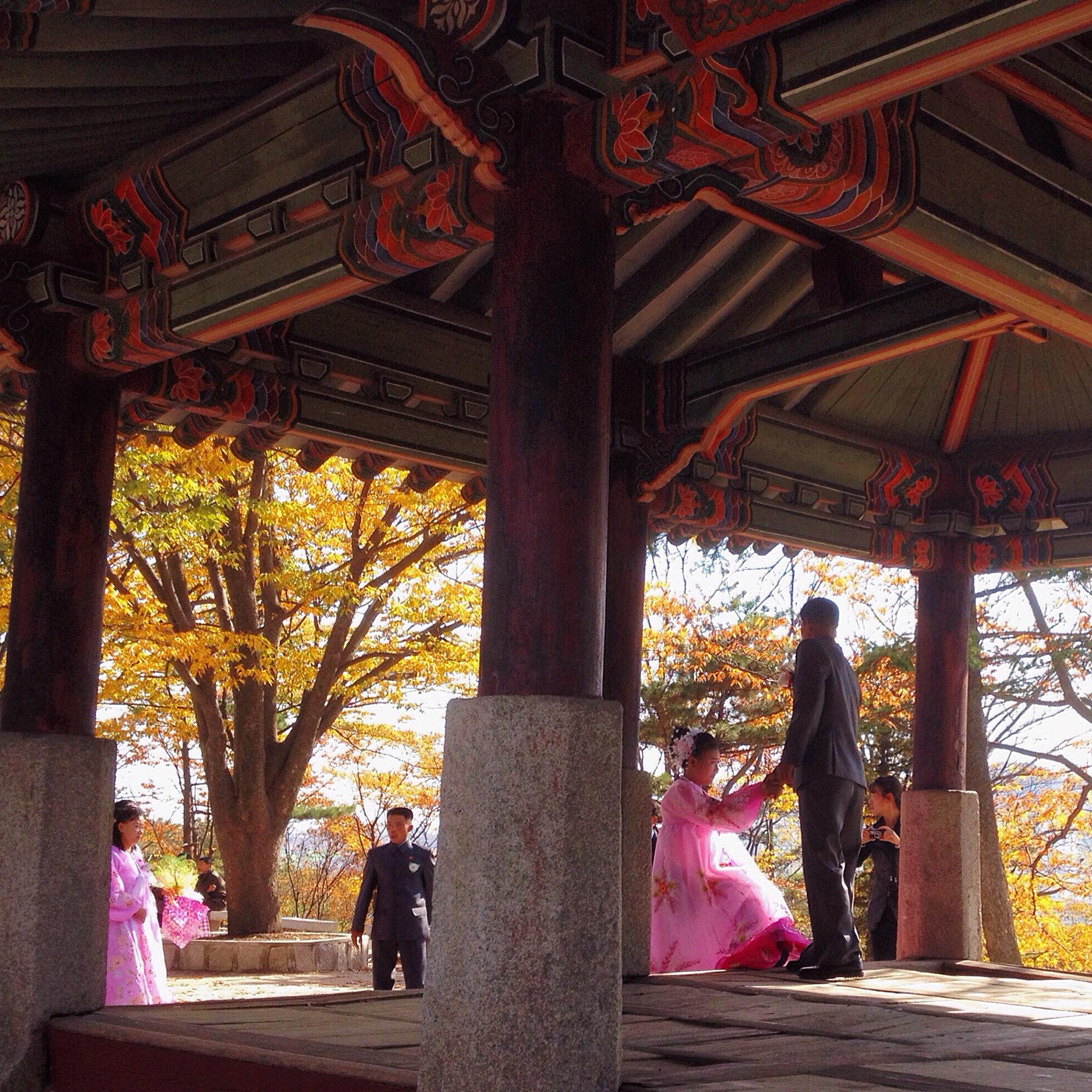 Wedding day in DPRK.