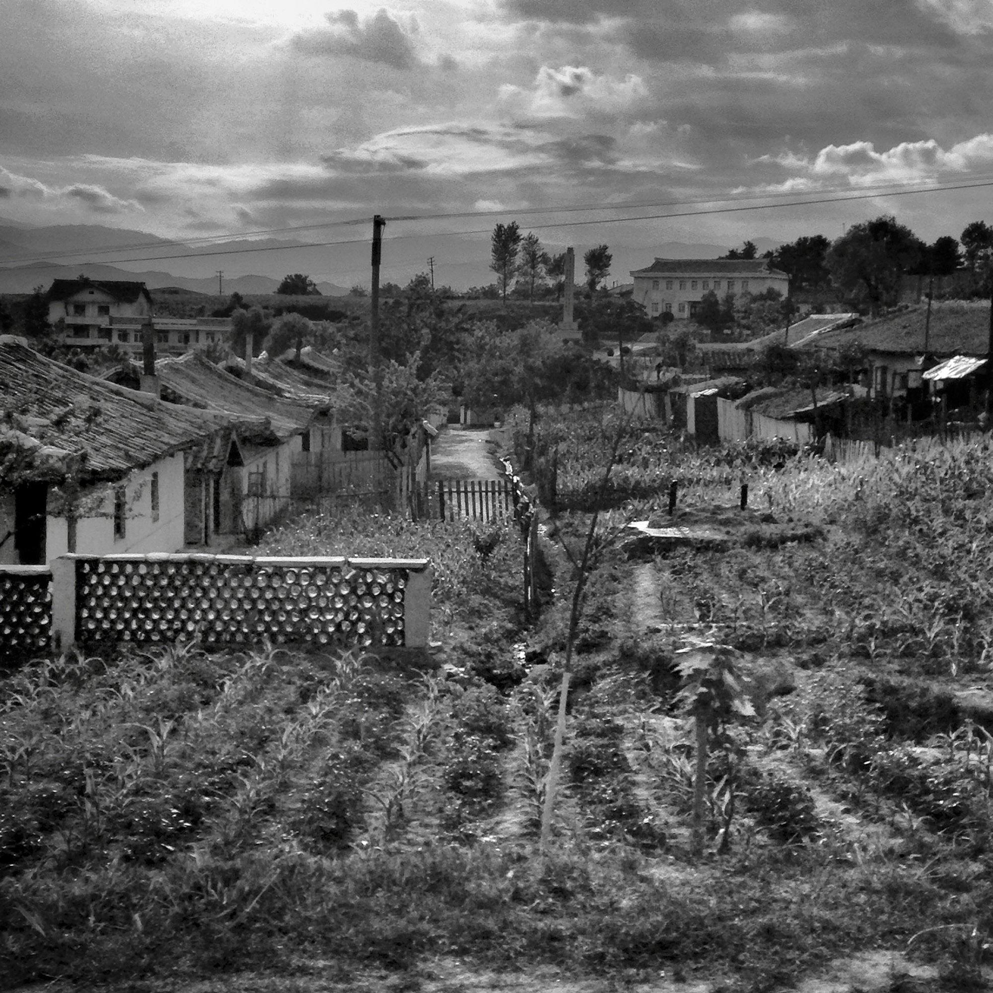 A village in North Korea's North Hamgyong province.