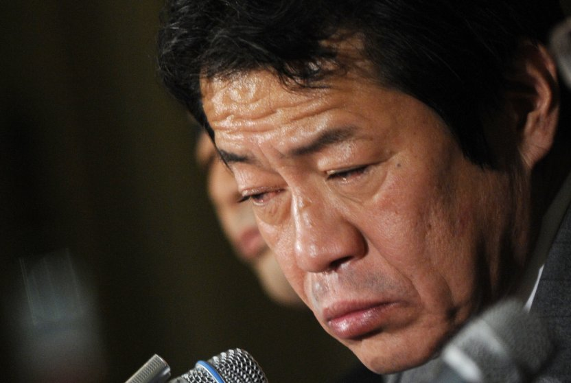 "Japan's Finance Minister Shoichi Nakagawa blamed his cold medicine. But Nakagawa must have been doing some serious Robotrippin' before the 2009 G7 meeting in Rome, because the man was all over the place: slurring his words, answering the wrong questions, and — wait a minute, did he just fall asleep?!? Nakagawa denied rumors that he was drunk and instead claimed that a dose of cold medicine, a ""sip"" of wine, and extreme jet lag led to his incoherence. Whatever the reason, Nakagawa's blunder cost him his job. Upon returning to Tokyo, he resigned on Feb. 17 and was replaced by Minister of the Economy Kaoru Yosano."