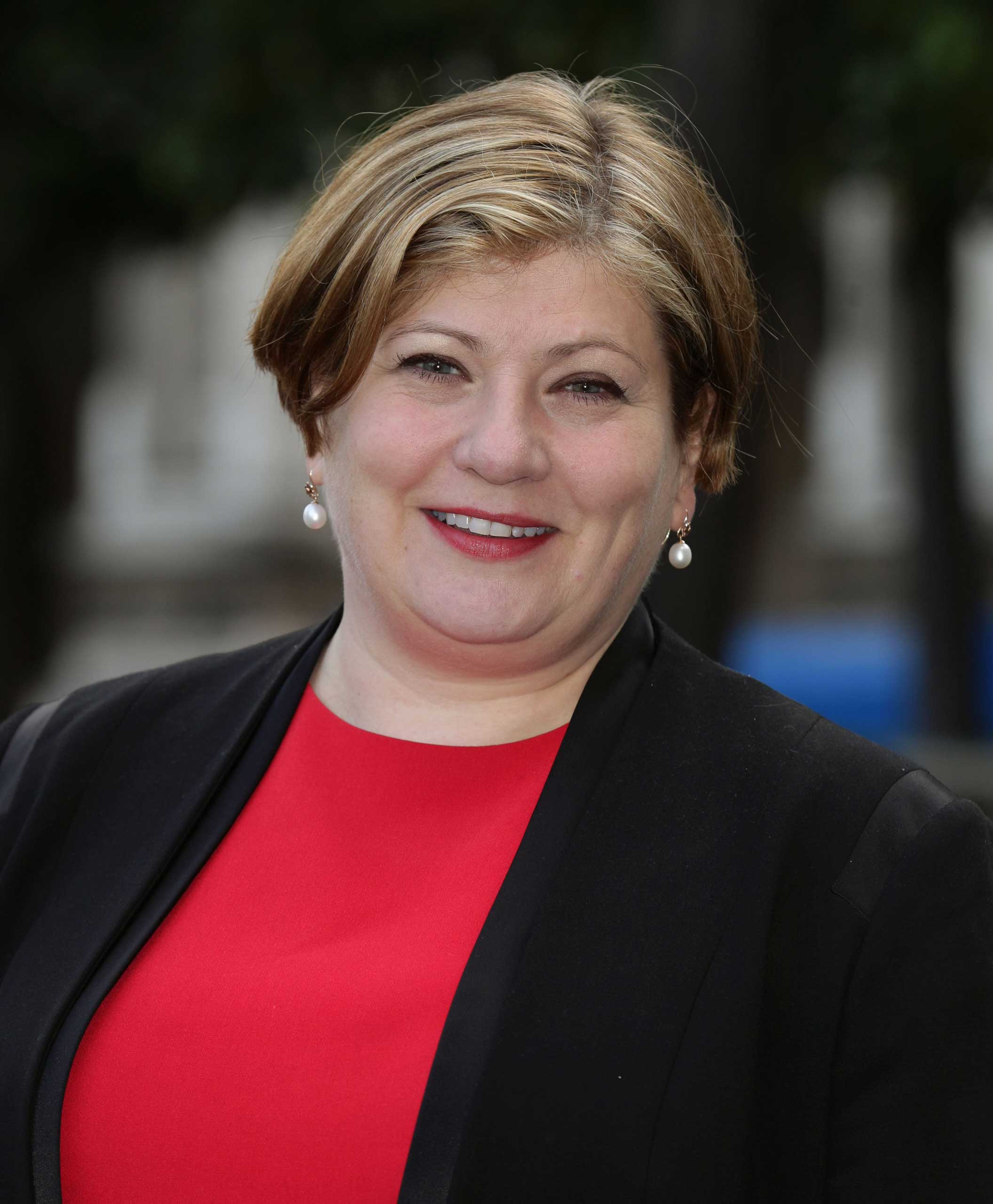 Then-Shadow Attorney General Emily Thornberry in 2013.