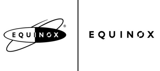 Left: Previous Equinox logo; Right: Updated logo as of June, 2014.