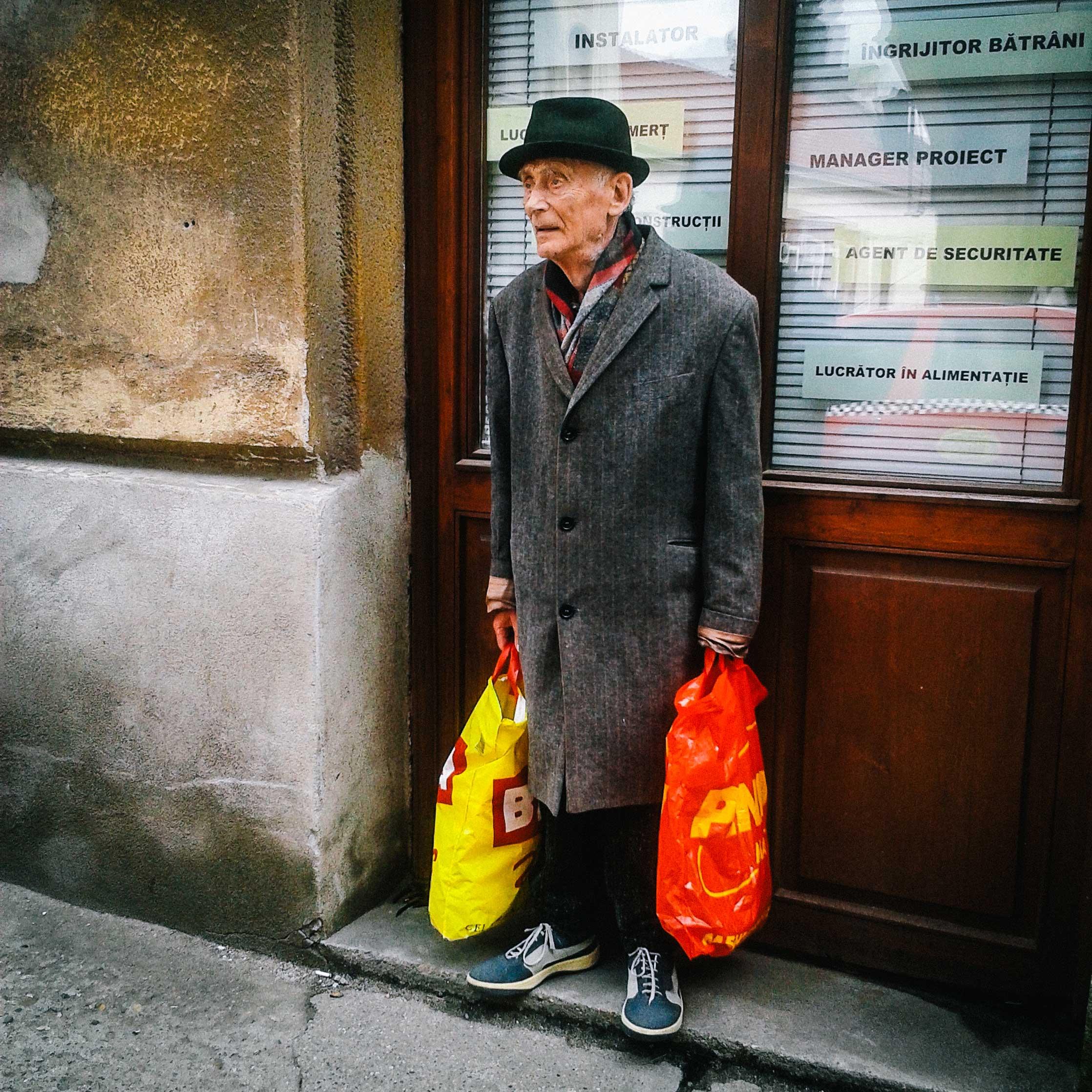 Street scene. Arad, Romania, 2014.