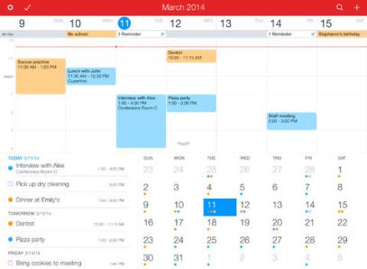<strong>Fantastical 2.</strong> Fantasical 2 is a feature-full calendar app that lets you add reminders, tasks and to-dos using natural language phrases. You can event set up geofences to have the app remind you of certain events or tasks when you enter a certain area, such as your home or office. And like any good calendar app, it plays nicely with Exchange, Google Calendar and iCloud.