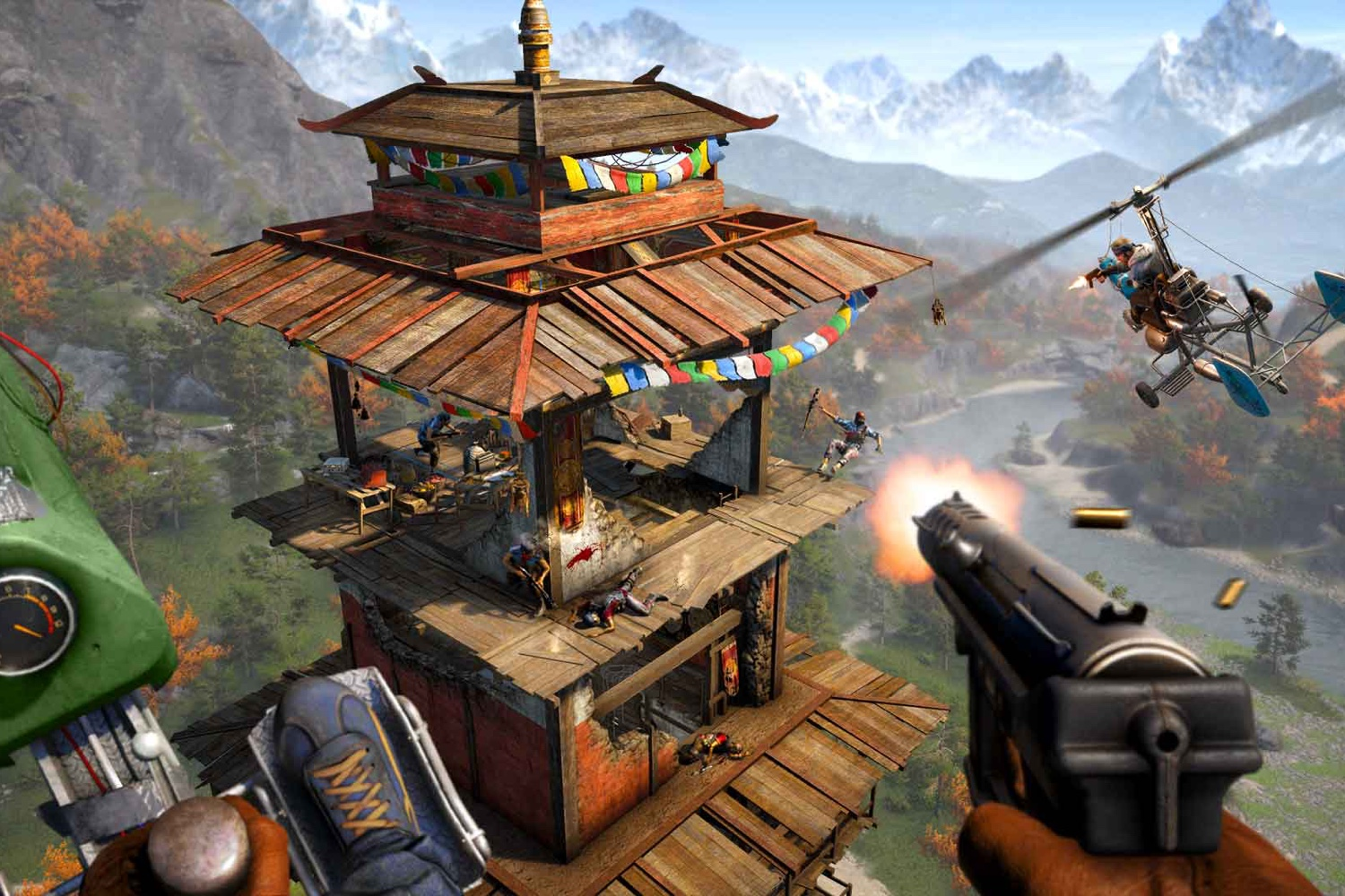far cry 4 vs 5 map size