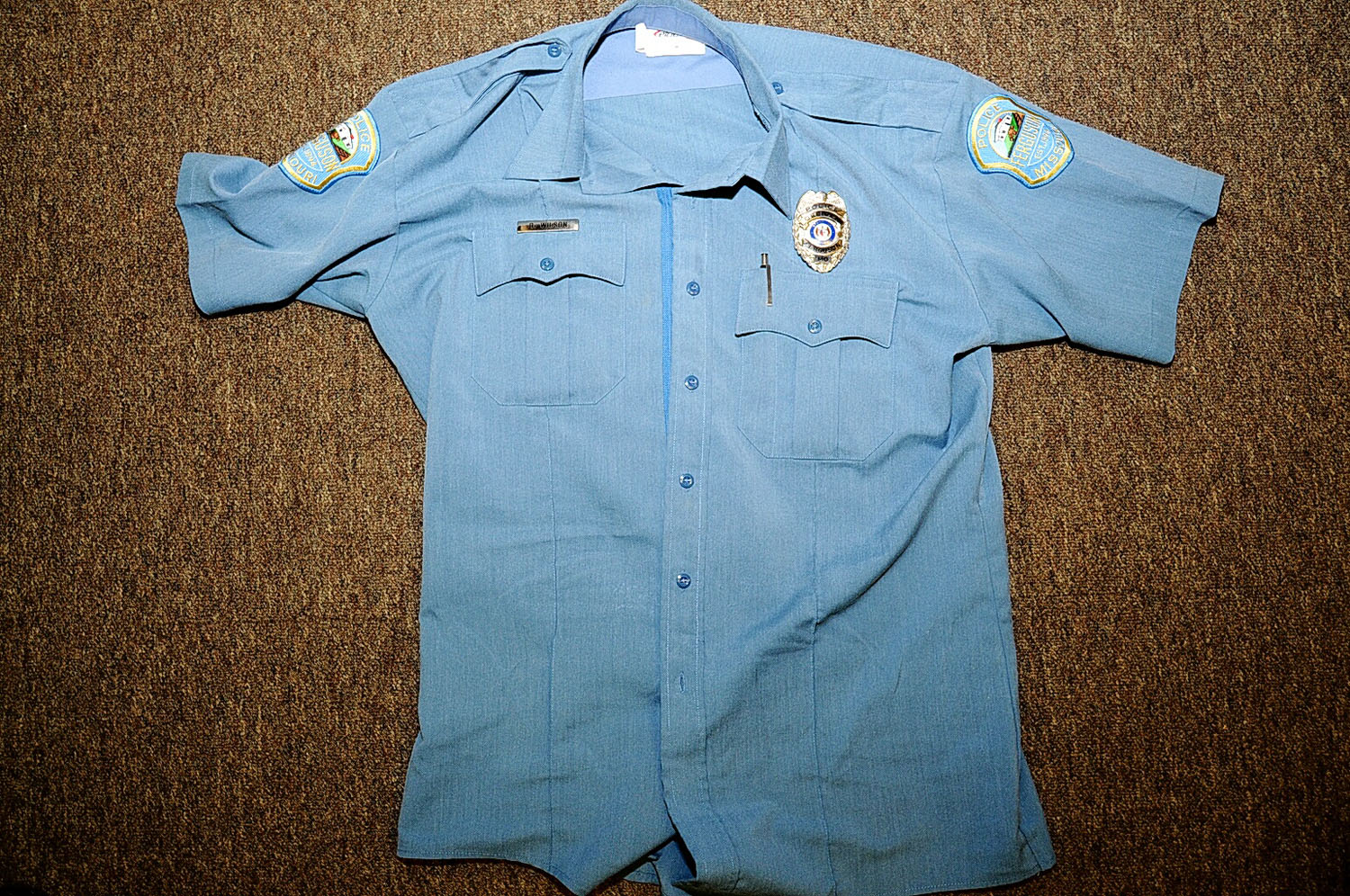 The uniform Officer Wilson wore the day he shot and killed Michael Brown