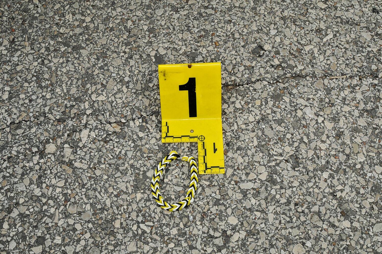 A bracelet was found near where Officer Darren Wilson fatally shot unarmed teen Michael Brown on Aug. 9, 2014