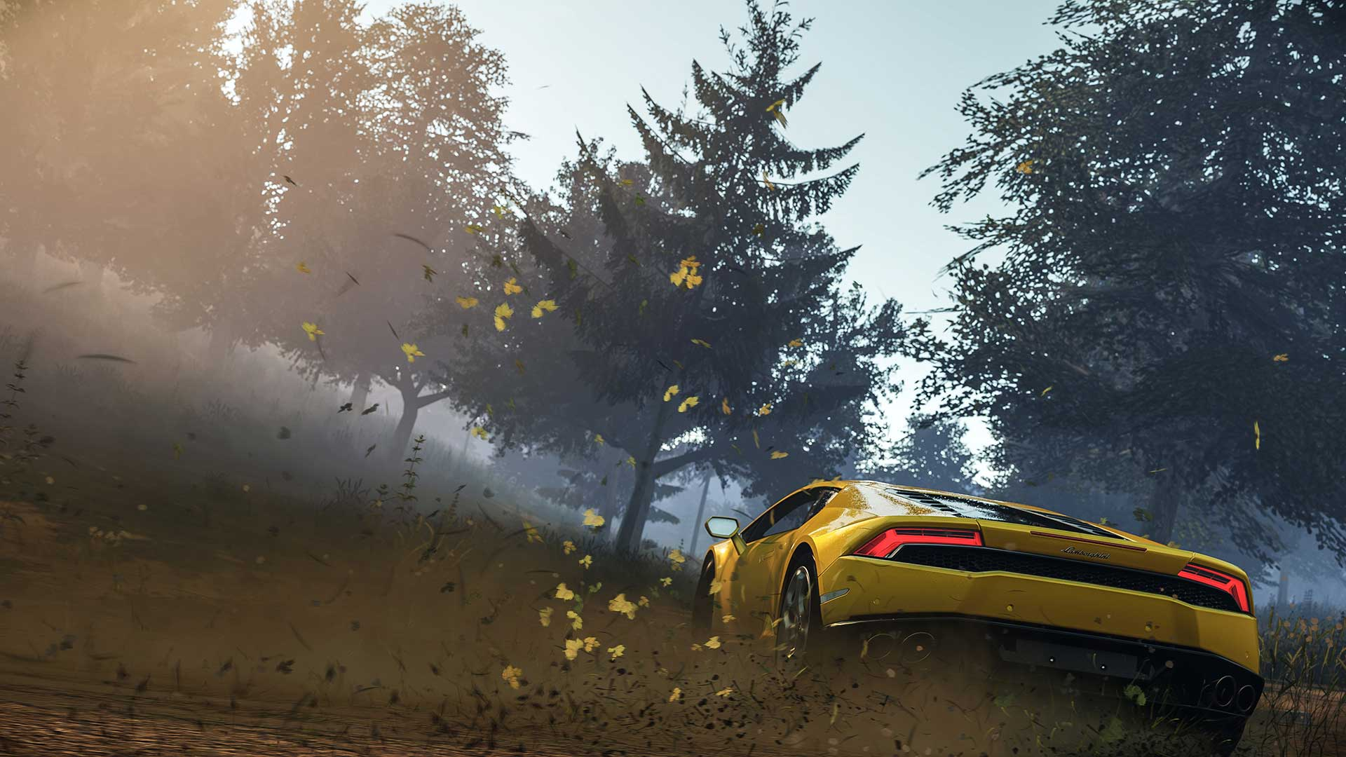 <strong>Forza Horizon 2</strong>                                                                          Turn 10's Euro-racer actually models light refracted through drops of moisture, the render tech plausibly simulating something as intangible but essential as the earth's atmosphere.