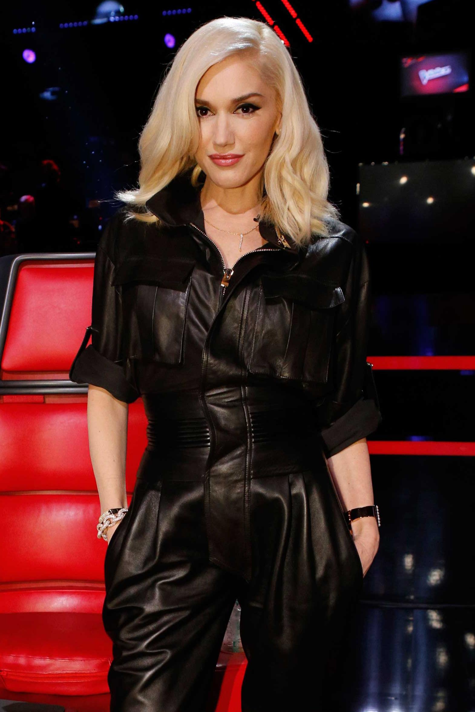 THE VOICE --  Live Show  Episode 713C -- Pictured: Gwen Stefani  -- (Photo by: Trae Patton/NBC/NBCU Photo Bank via Getty Images)