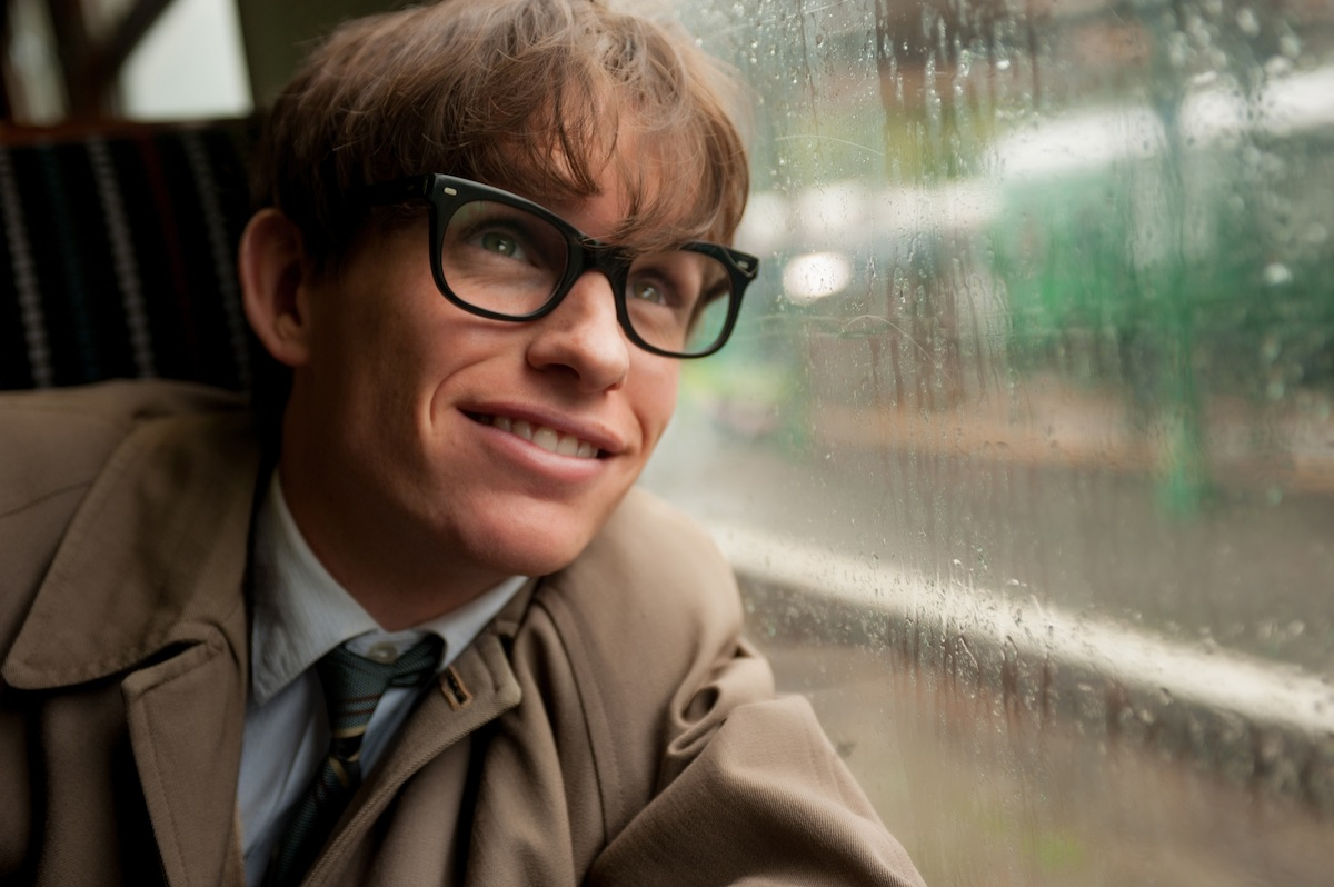 Eddie Redmayne as Stephen Hawking in a scene from  The Theory of Everything.  (AP Photo/Focus Features, Liam Daniel)