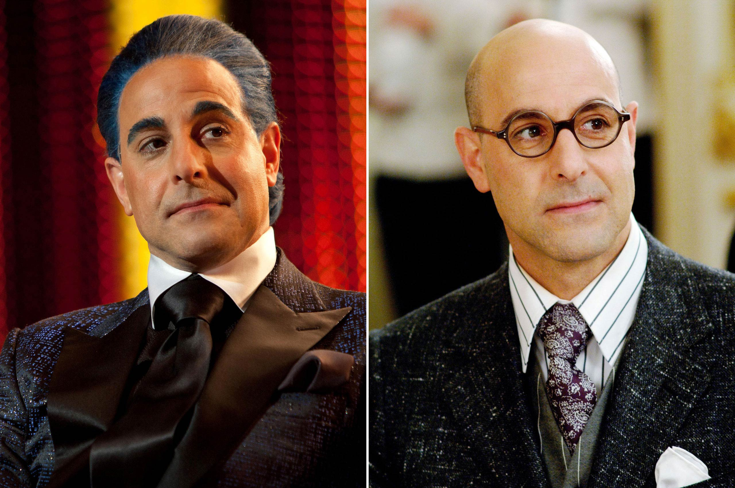 Before he was interviewing the Hunger Games victors about the minutiae of their lives as Caesar Flickerman, Stanley Tucci chased the latest in fashion trends as Nigel, the snarky art director of <i>Runway</i> magazine, in the 2006 comedy <i>The Devil Wears Prada</i>.