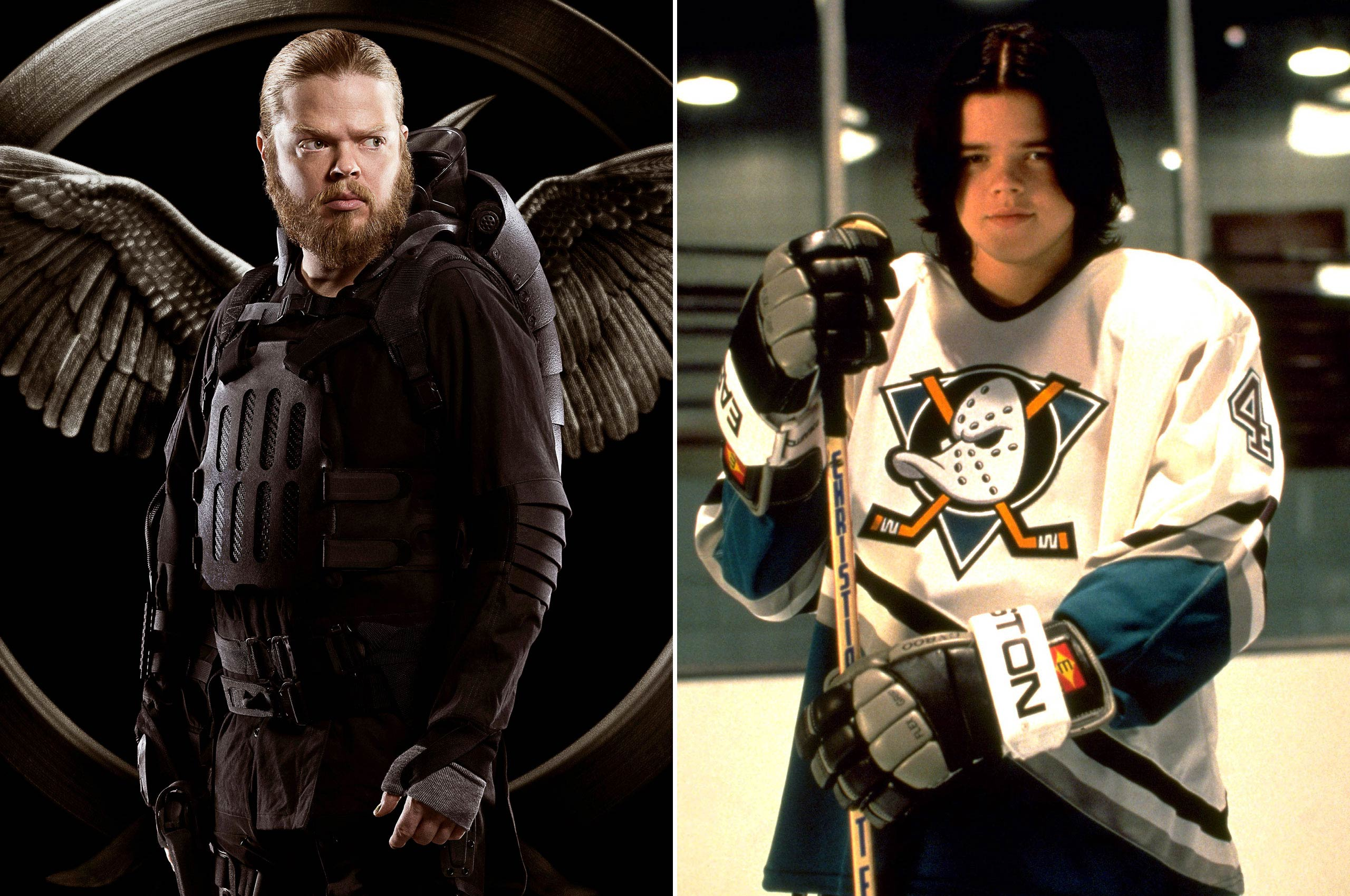 Long before he was shooting propaganda films in <i>Mockingjay</i> as Pollux, Elden Henson was shooting pucks back in the 90s as Fulton Reed in the <i>Mighty Ducks</i> trilogy.