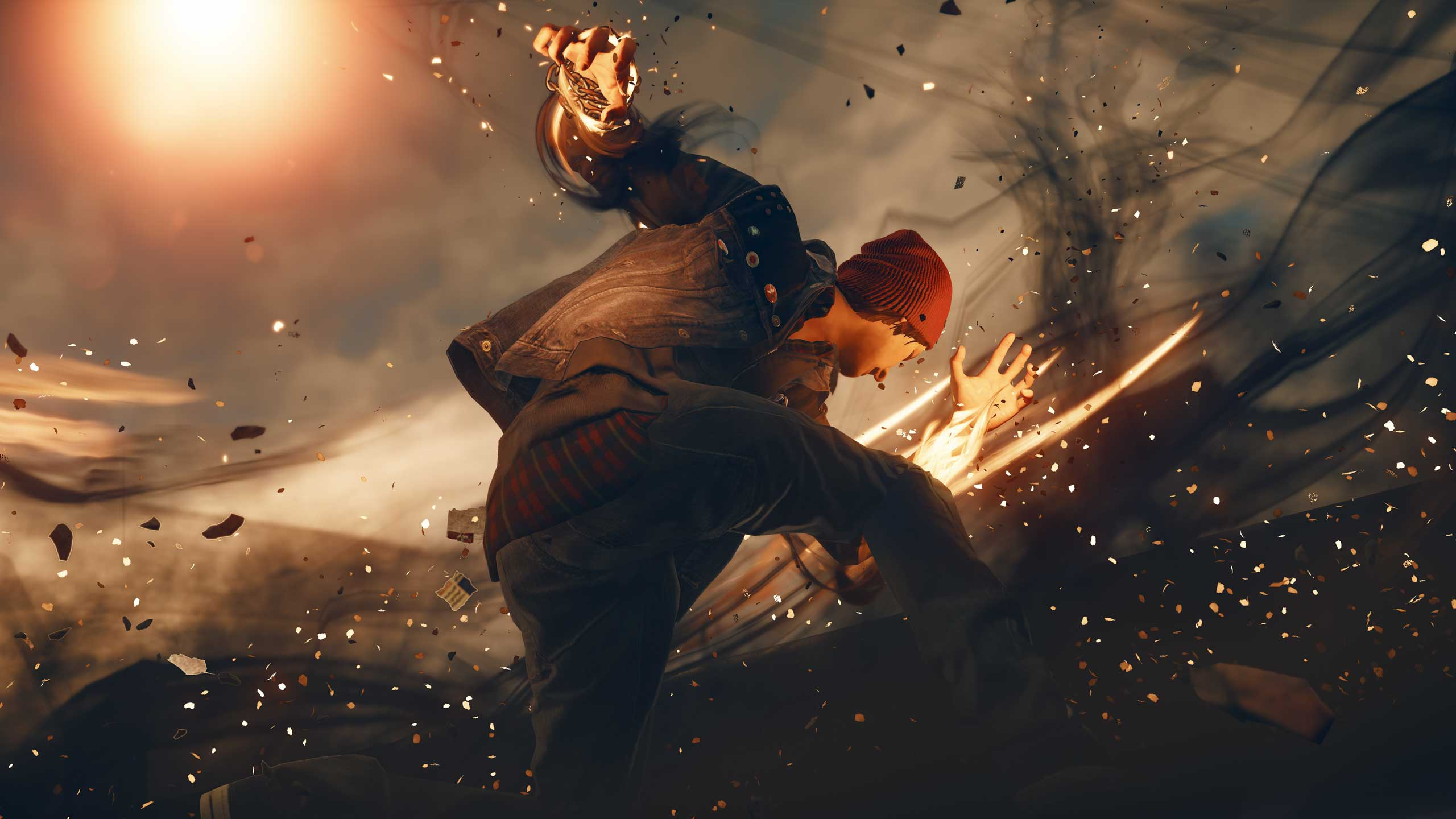 <strong>Infamous Second Son</strong>                                                                          Sucker Punch's freeform Seattle-based superhero adventure models all sorts of minutia, from the intricate wrinkling of an aged character's face to the way eyelids stick, slightly, before separating when characters blink.