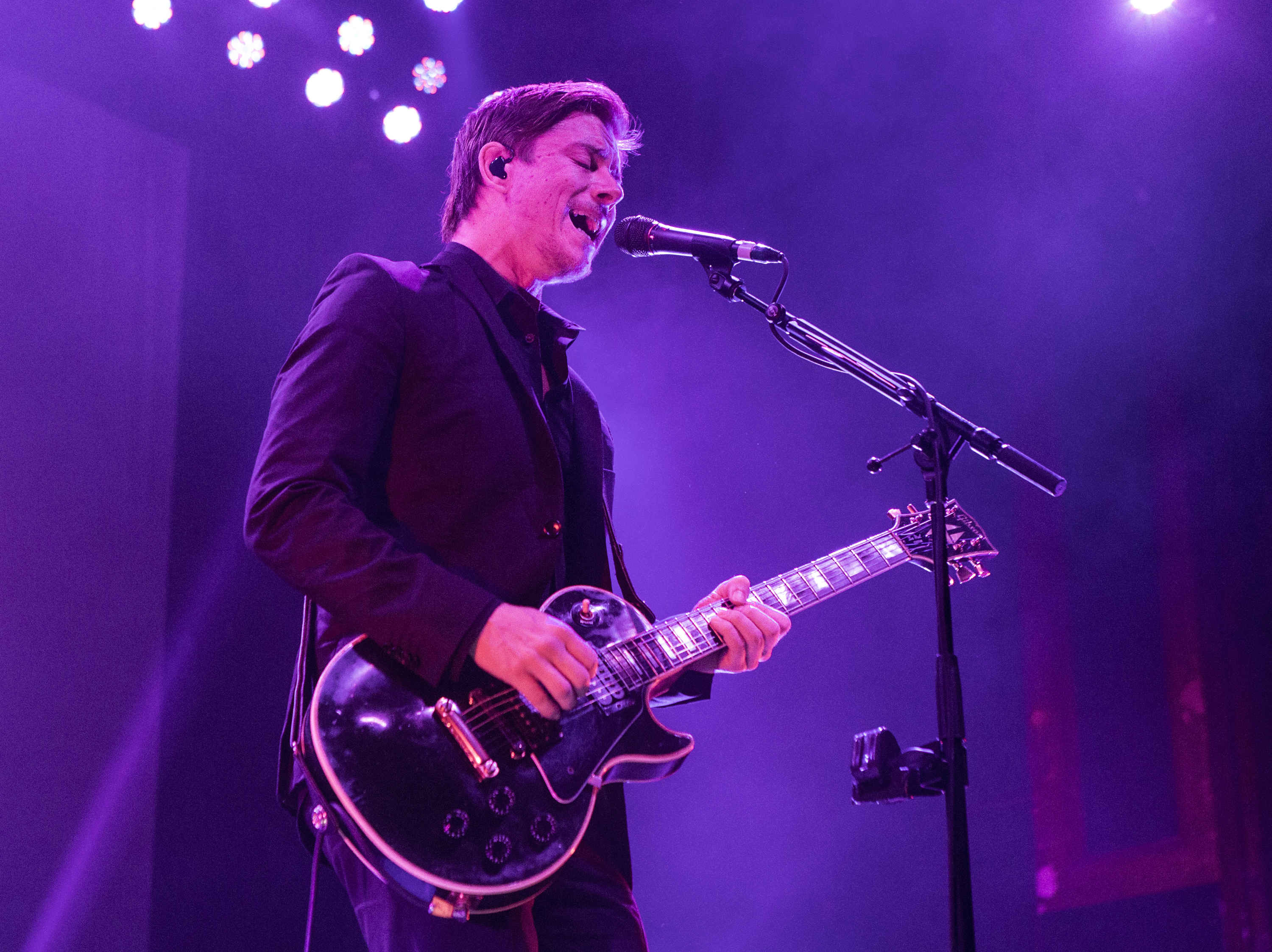 Paul Banks with Interpol perform at the Tabernacle in Atlanta on Nov. 10, 2014