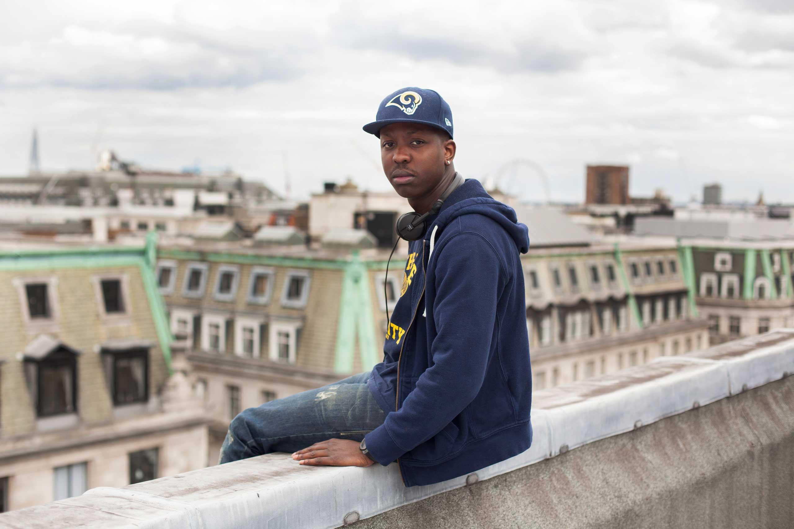 Self-made music video mogul Jamal Edwards in London on Aug. 21, 2014.