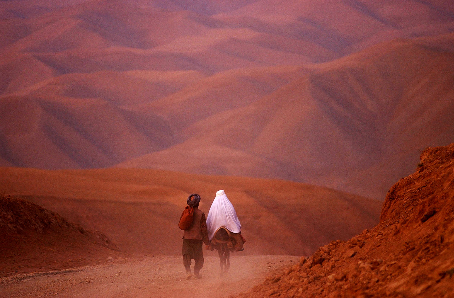 Photograph from James Hill's new book, Somewhere Between War and PeaceThe Couple, Badakhshan Province, Afghanistan. 2001.