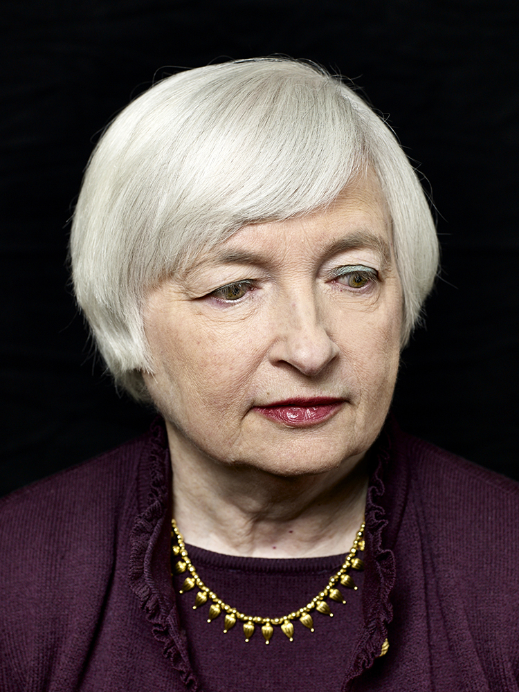 Janet Yellen. From  The Sixteen Trillion Dollar Woman.  January 20, 2014 issue.