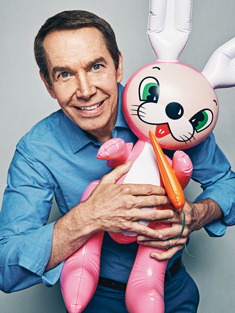 Jeff Koons. From  Show Me the Bunny.  July 7  /July 14, 2014 issue.