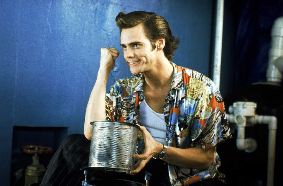 <strong>Ace Ventura: Pet Detective</strong>                                    The 1994 film was Carrey's breakout role.
