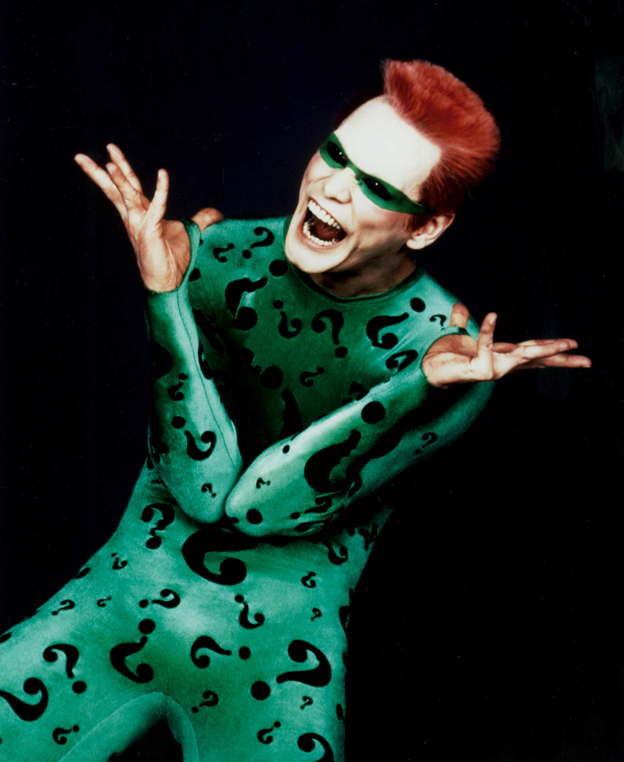 <strong>Batman Forever</strong>                                    As clever as he is devious, the Riddler was another pitch-perfect role for Carrey.