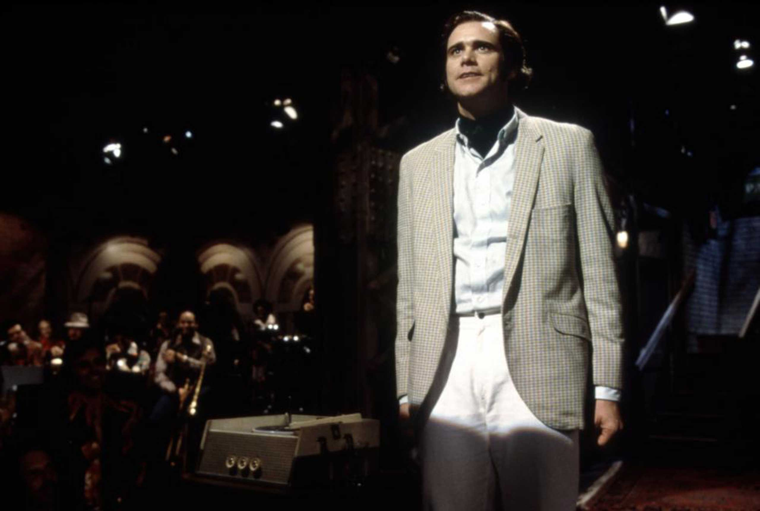 <strong>Man on the Moon</strong>                                    Carrey won a Golden Globe award for his portrayal of oddball entertainer Andy Kaufman.