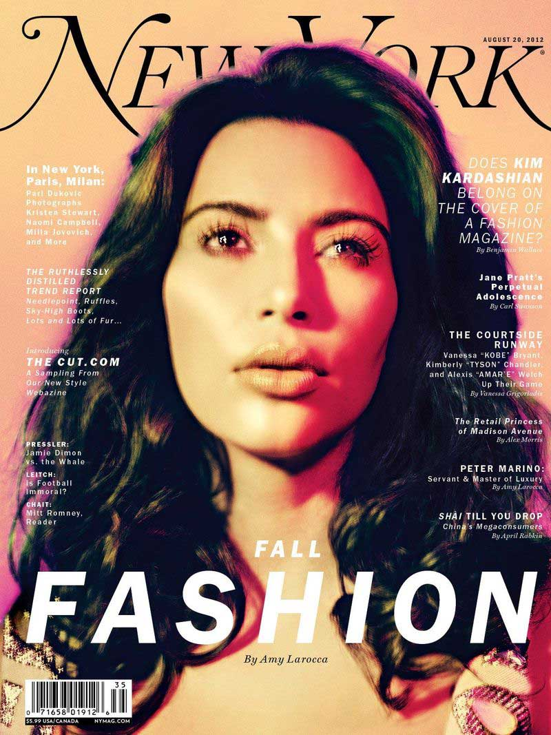 In 2012, Kim Kardashian covered <i>New York</i> magazine's fashion issue, which asked whether she had a place in the industry. Since then, she's only shown that the answer to that question is a resounding <i>yes</i> as she attended Paris Fashion Week and the Met Ball and landed that Vogue cover — a magazine that in the past has been not-so-open-minded about women with curvy figures like hers.