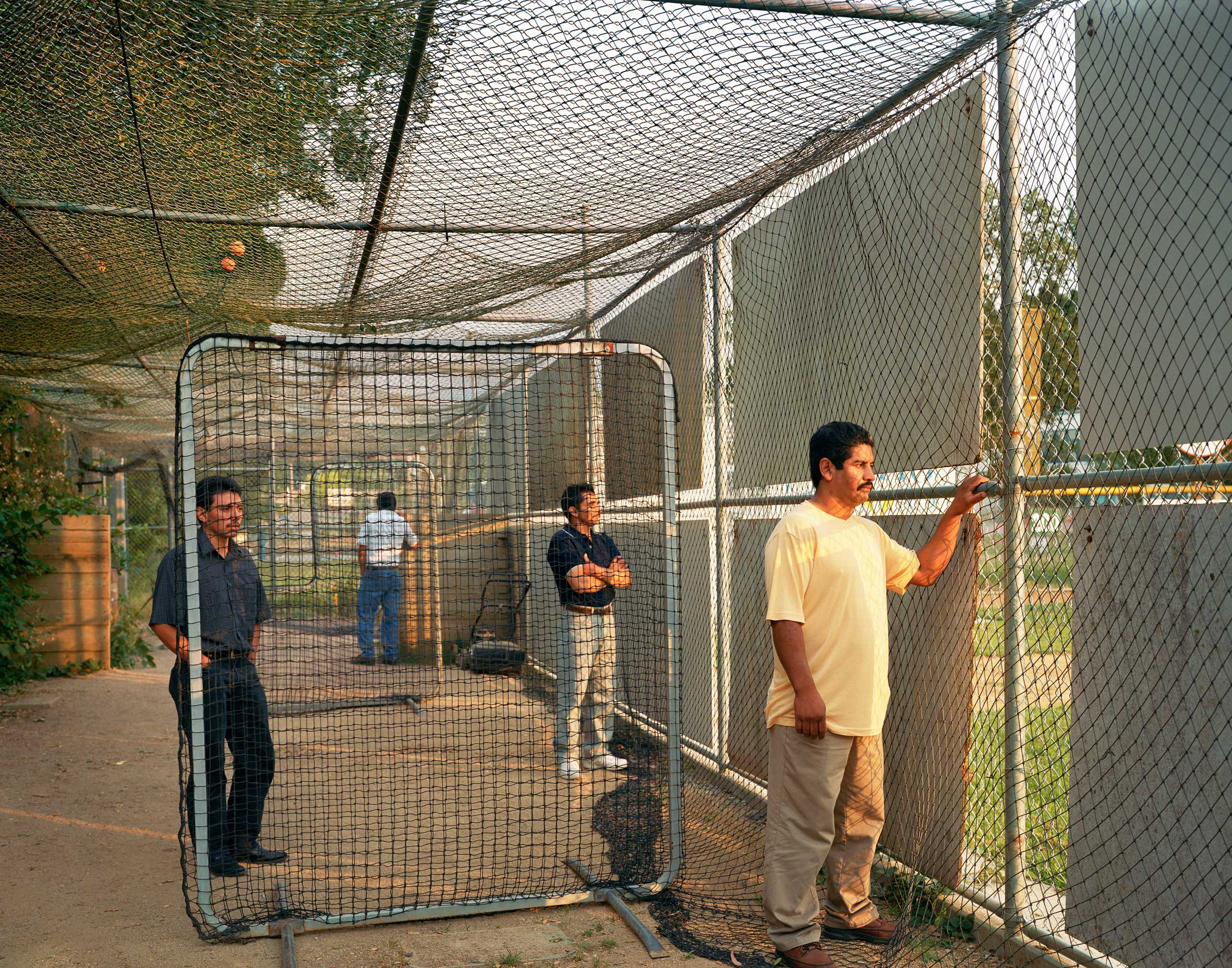 Batting Cage, 2007, from the series Homeland