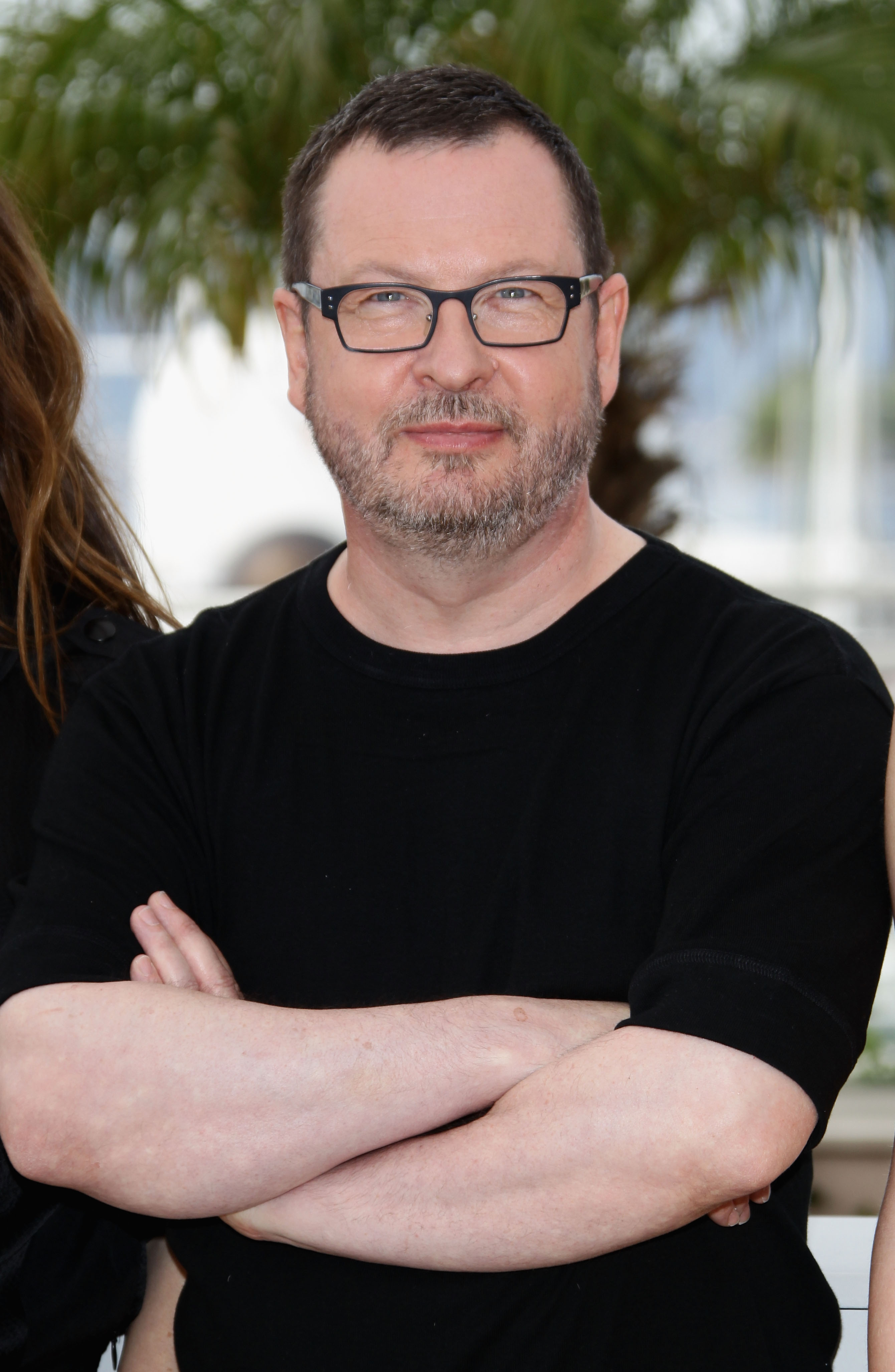 Director Lars Von Trier attends the  Melancholia  photocall at the Palais des Festivals during the 64th Cannes Film Festival on May 18, 2011 in Cannes, France.