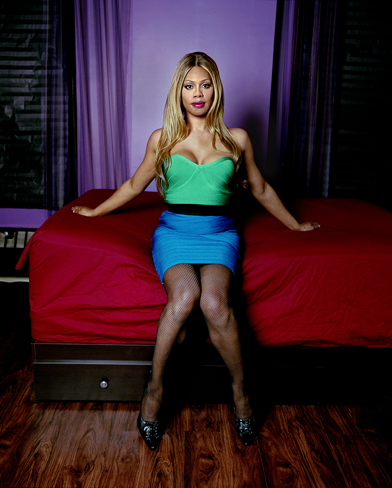 Laverne Cox. From  America's Transition.  June 9, 2014 issue.