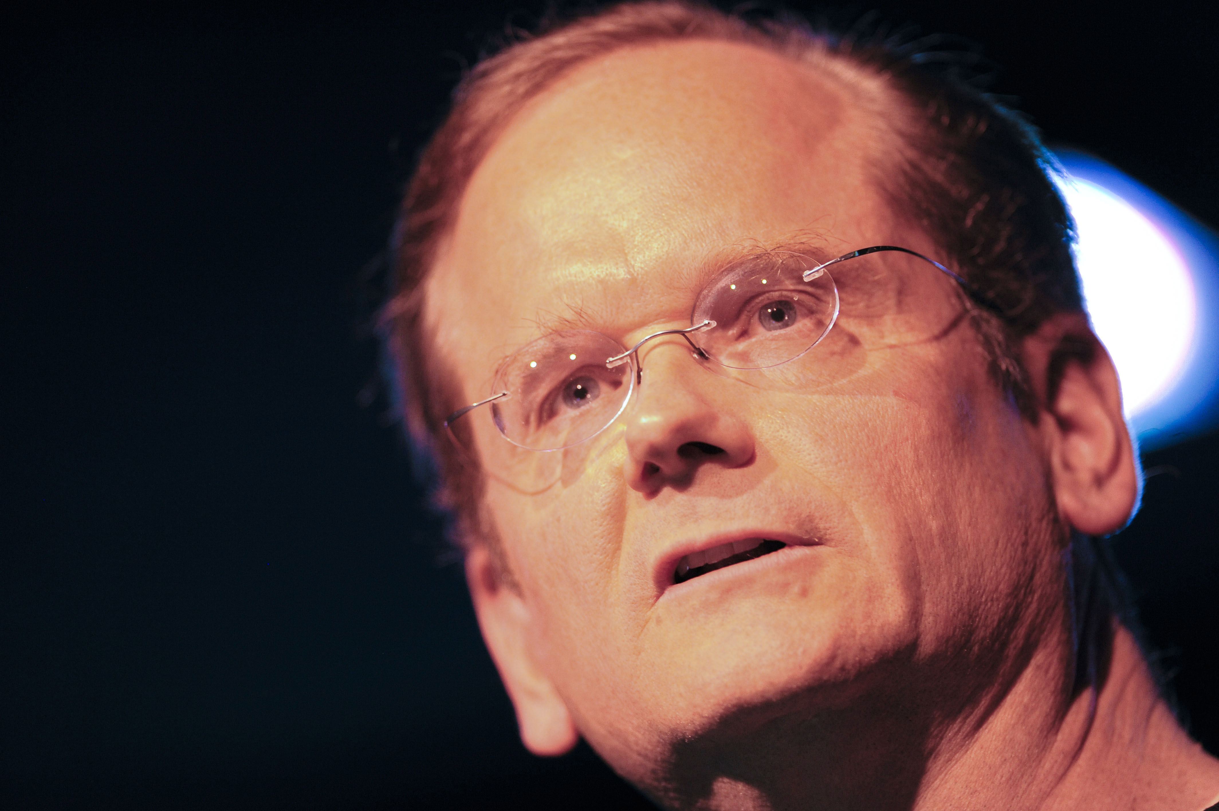 Lawrence Lessig speaks during the Aspen Ideas Festival 2011 on June 27, 2011 in Aspen, Colorado.