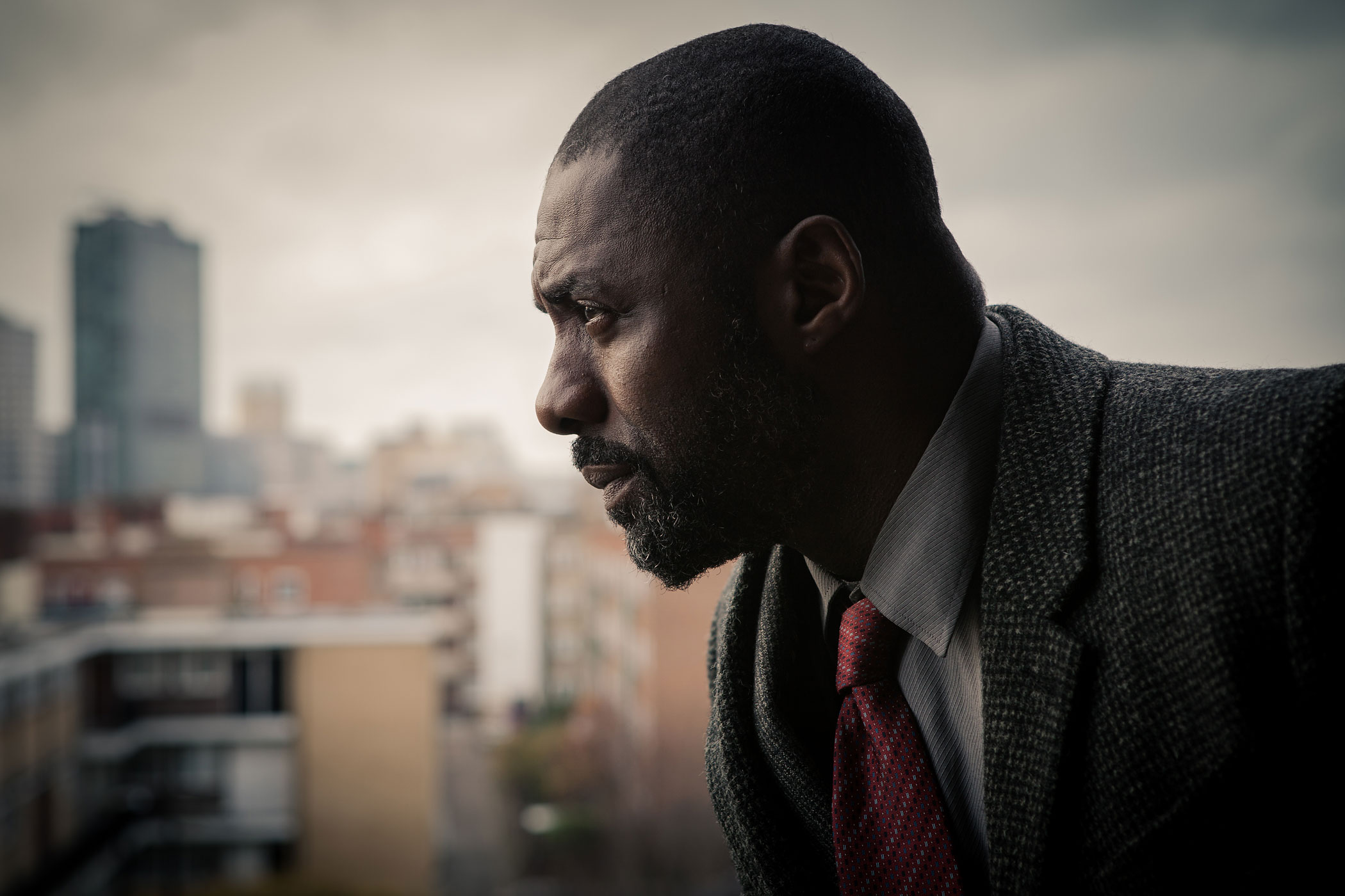 Idris Elba plays John Luther in BBC America's Luther