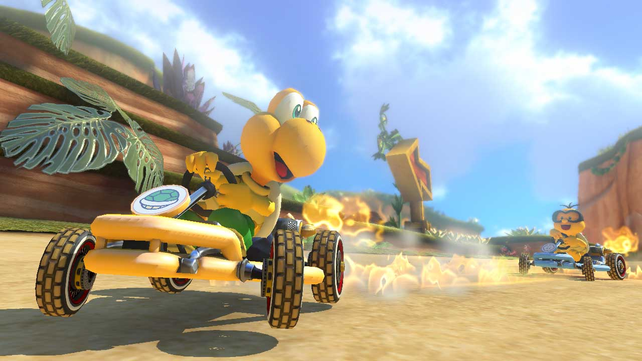 <strong>Mario Kart 8</strong>                                                                      Nintendo's kart-racer for Wii U reminds us that raw horsepower is just a facet of crafting a beautiful game world.