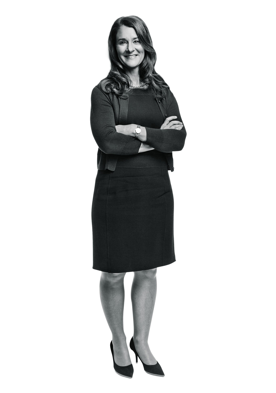 Melinda Gates photographed in the TIME Studio, New York, NY on November 17th, 2014