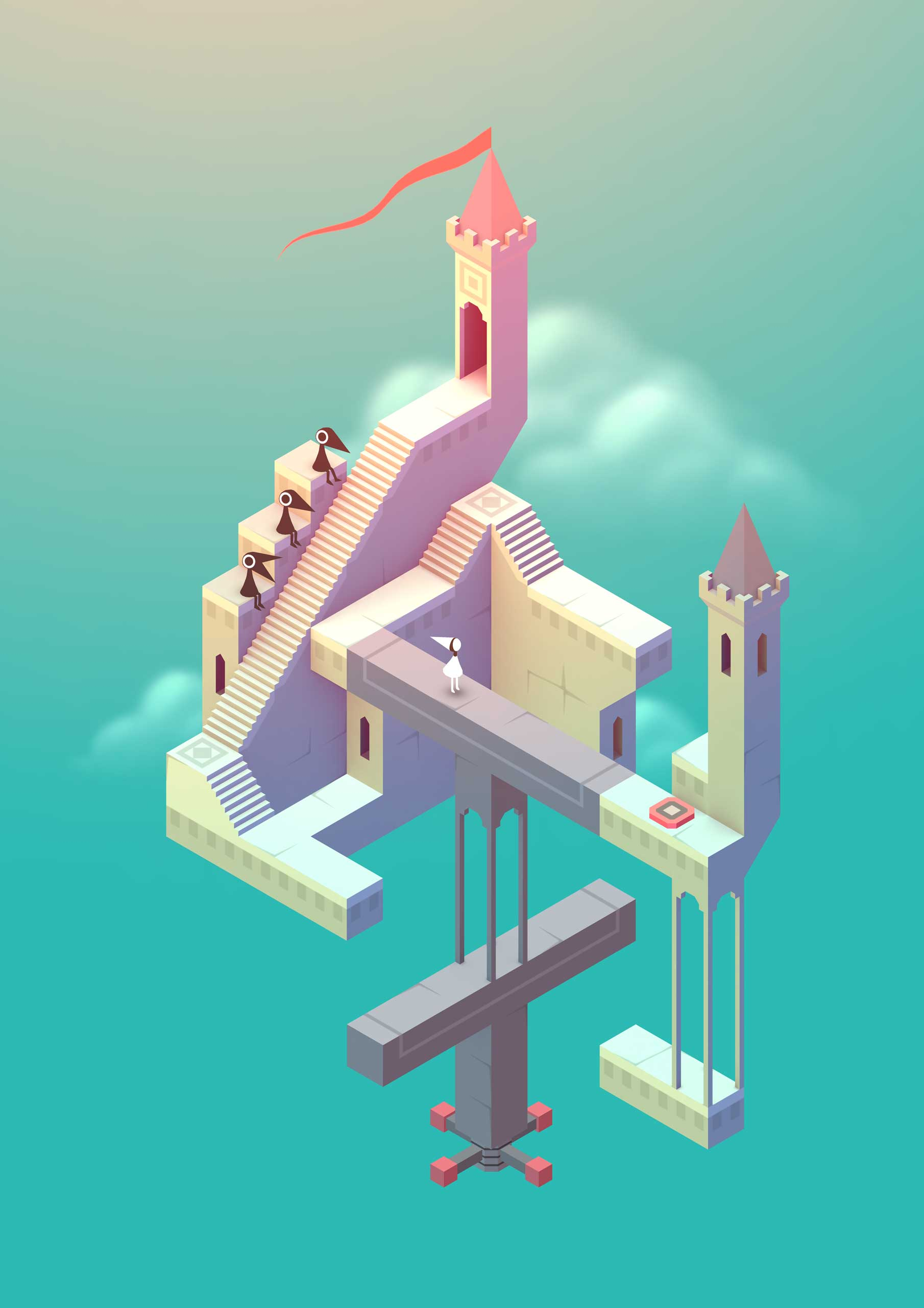 <strong>Monument Valley</strong>                                                                      Escher-like at first glance, Ustwo's mind-bending puzzler was also inspired by posters, bonsai plants, arabic calligraphy and filmmaker Tarsem Singh's <i>The Fall</i>.