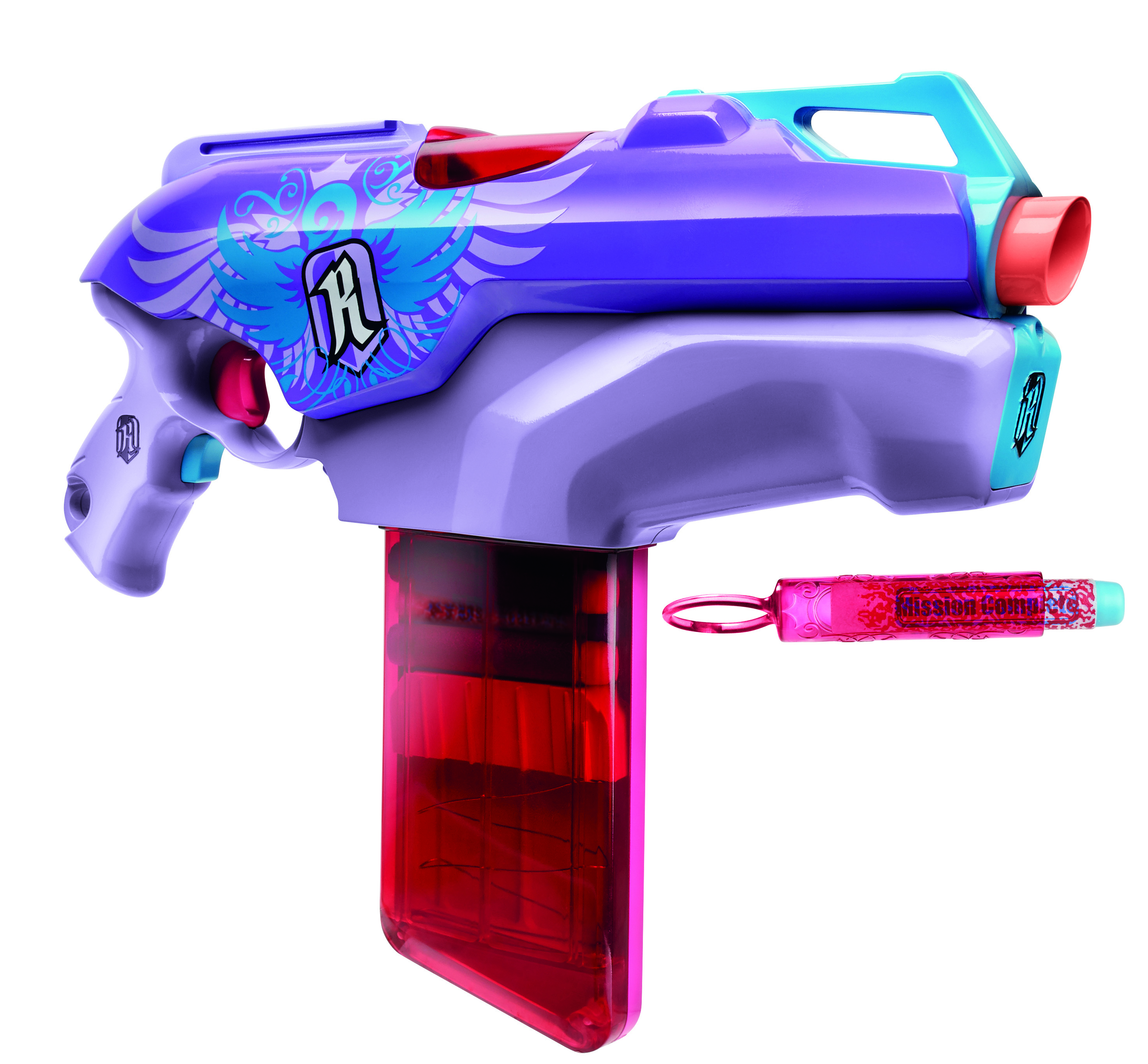 "<strong>Nerf Rebelle Rapid Red Blaster</strong>                                                                      Last year, Nerf decided to even the battlefield and create a new line of guns, arrows and crossbows specifically for girls. The resulting <a href=""http://www.hasbro.com/rebelle/en_us/"">Nerf Rebelle</a> line takes a cue from the success of <i>The Hunger Games</i>: The box is covered with tweens styled like that series' hero, Katniss Everdeen."