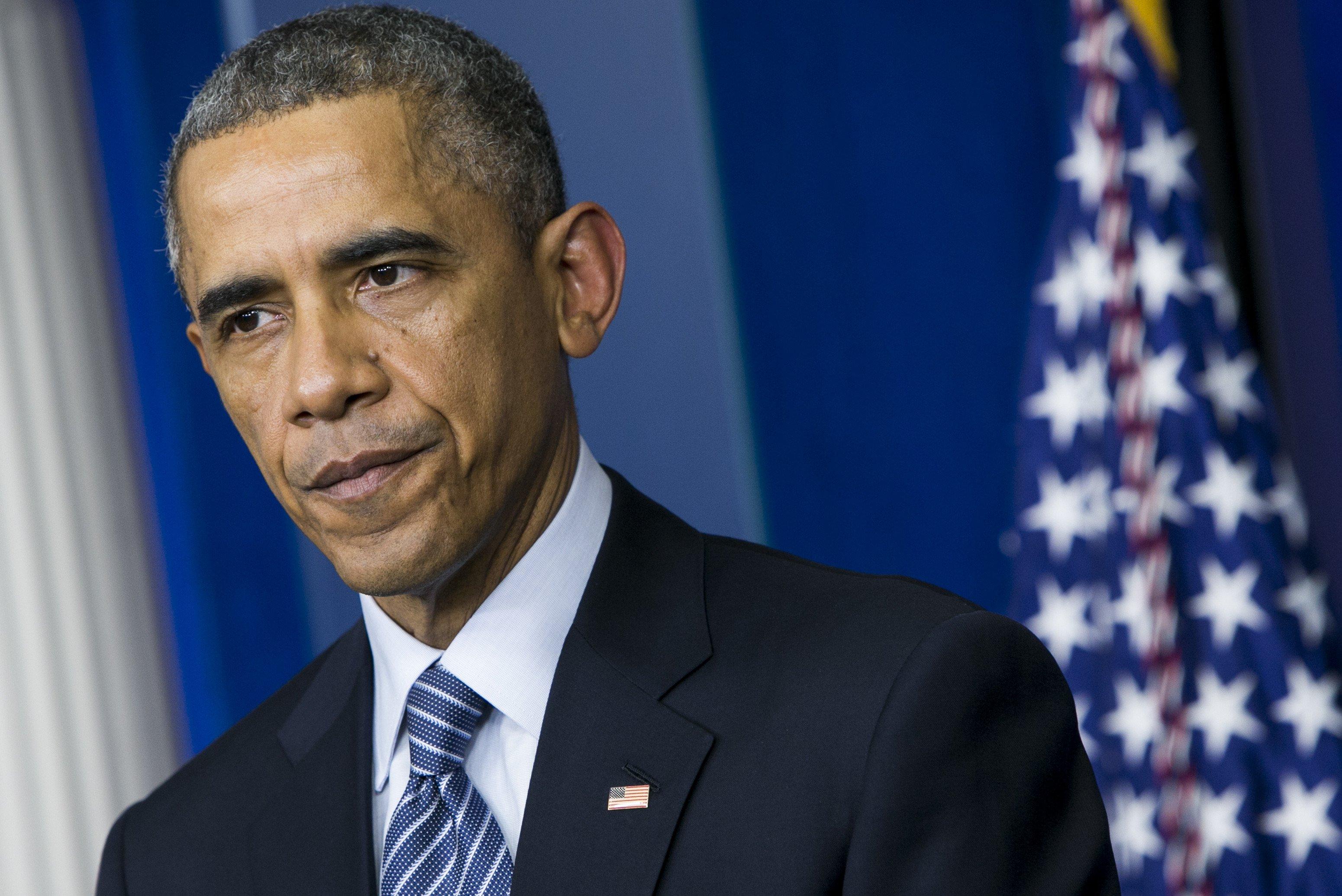 President Barack Obama delivers remarks at the White House in Washington, D.C. on Nov. 24, 2014.