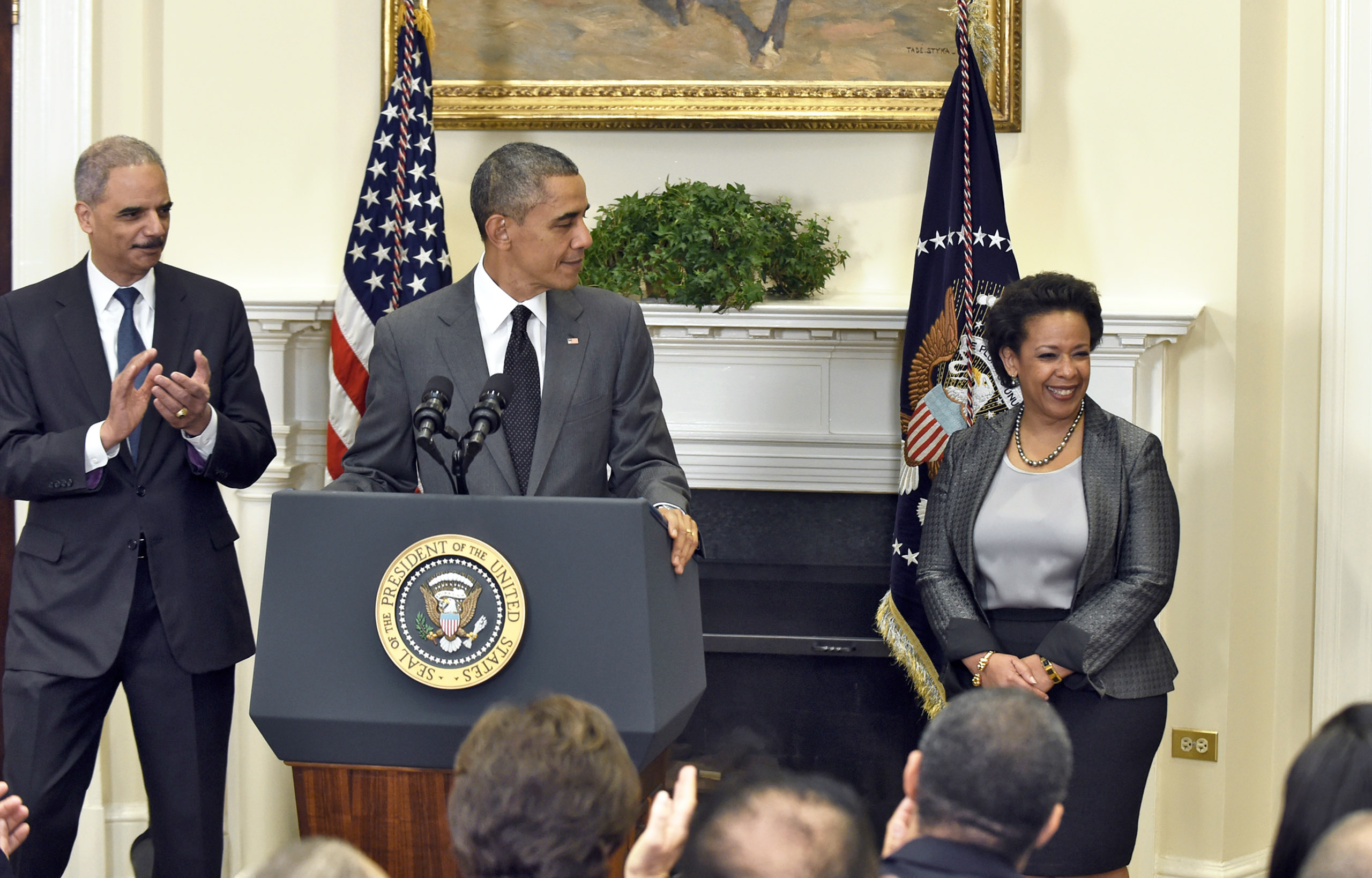 The top U.S. prosecutor for the Eastern District of New York, in Brooklyn, Lynch was one of the few names on President Obama's short list without close ties to the White House. If confirmed, she would be the first female African-American Attorney General.