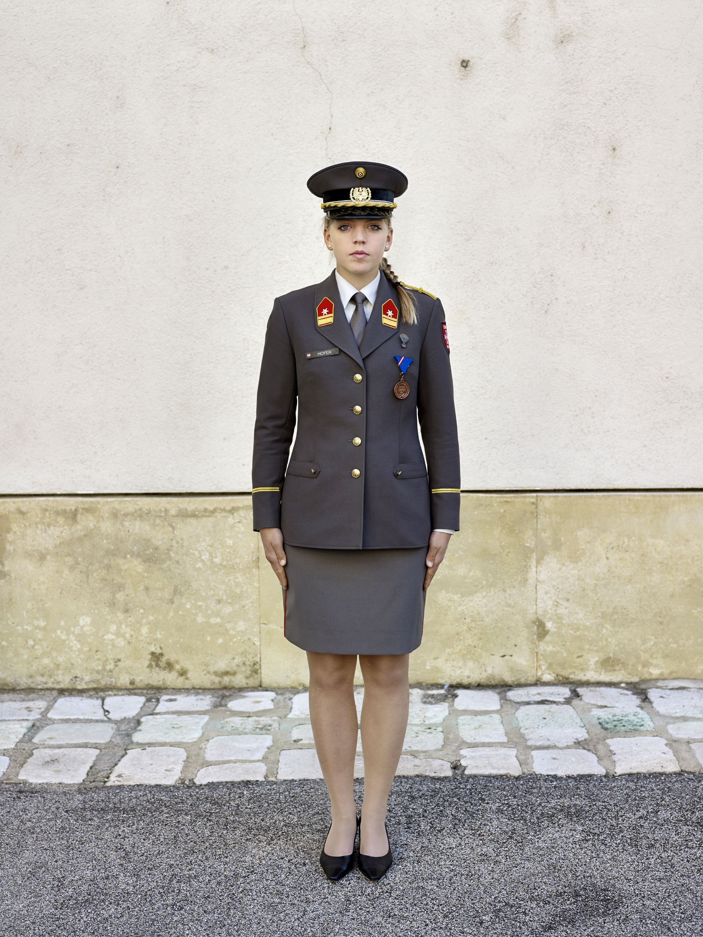 Cadet Hofer is seen at The Theresian Military Academy, Wiener Neustadt, Austria, Oct. 18, 2011.