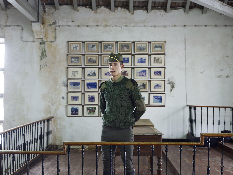 Cadet Alves in the Academia Militar, Lisbon, Portugal, Dec. 04, 2012.