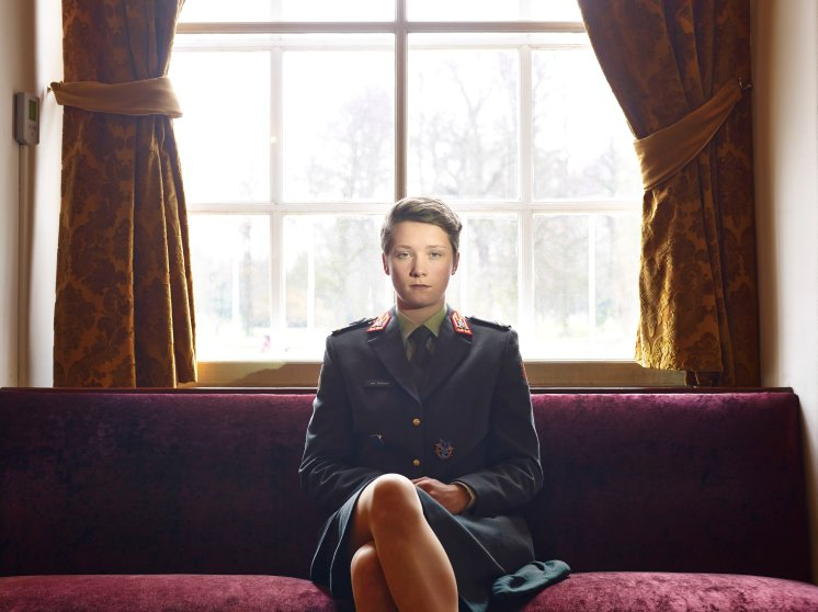 Cadet van Vilsteren at The Royal Military Academy, Breda, The Netherlands, Dec. 18, 2013.