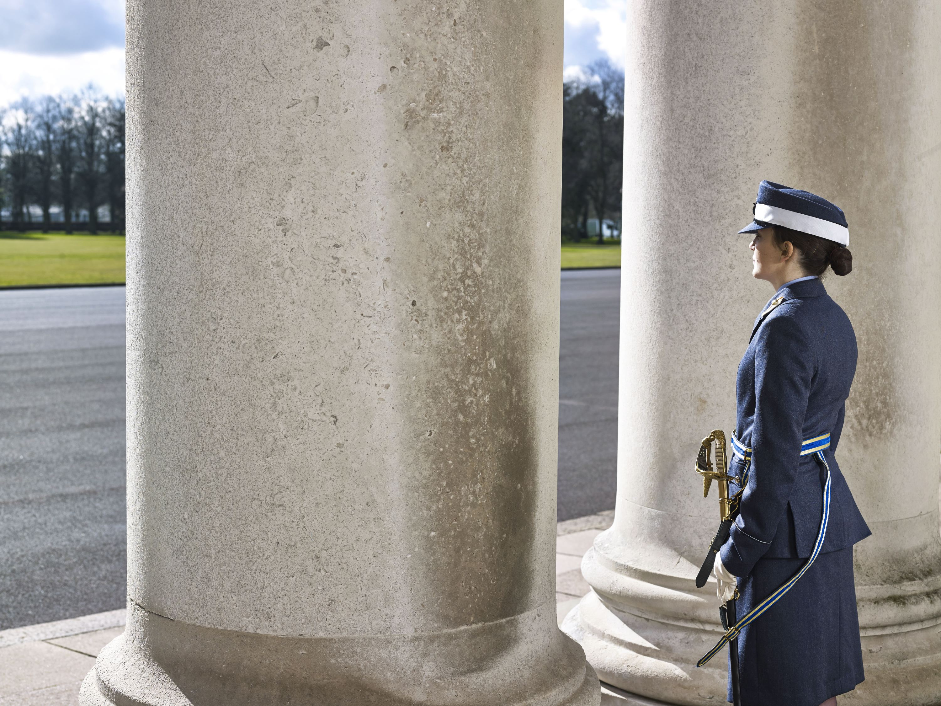 The Royal Air Force's Cranwell College, Lincolnshire, U.K., March, 04, 2014.