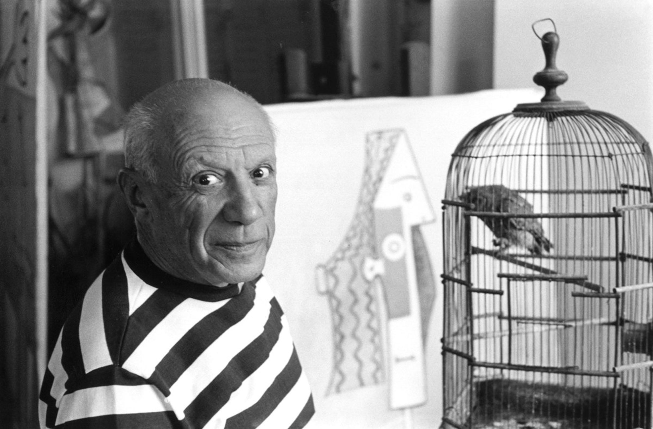 Pablo Picasso, Cannes. 1957.