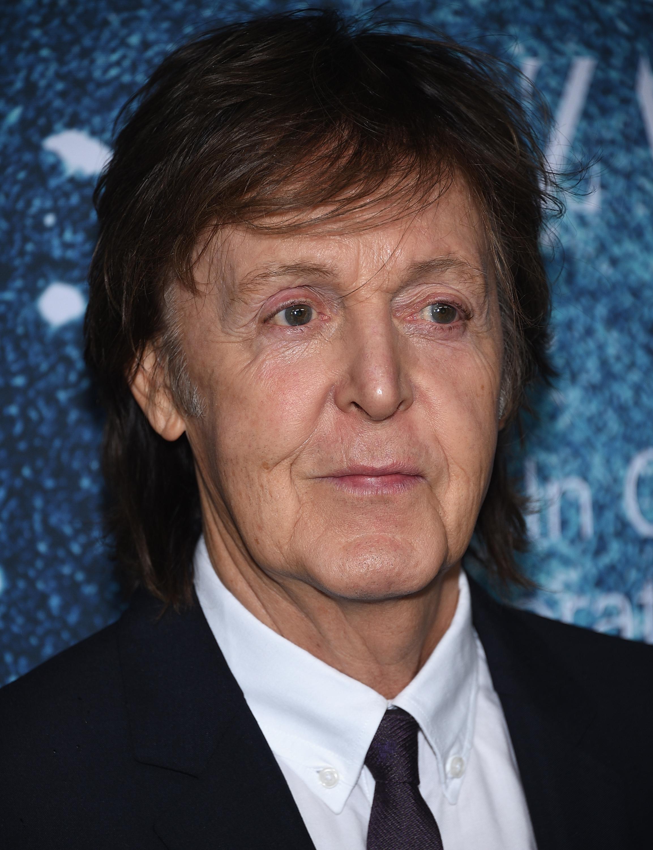 Sir Paul McCartney  attends 2014 Women's Leadership Award Honoring Stella McCartney at Lincoln Center on Nov. 13, 2014 in New York City.