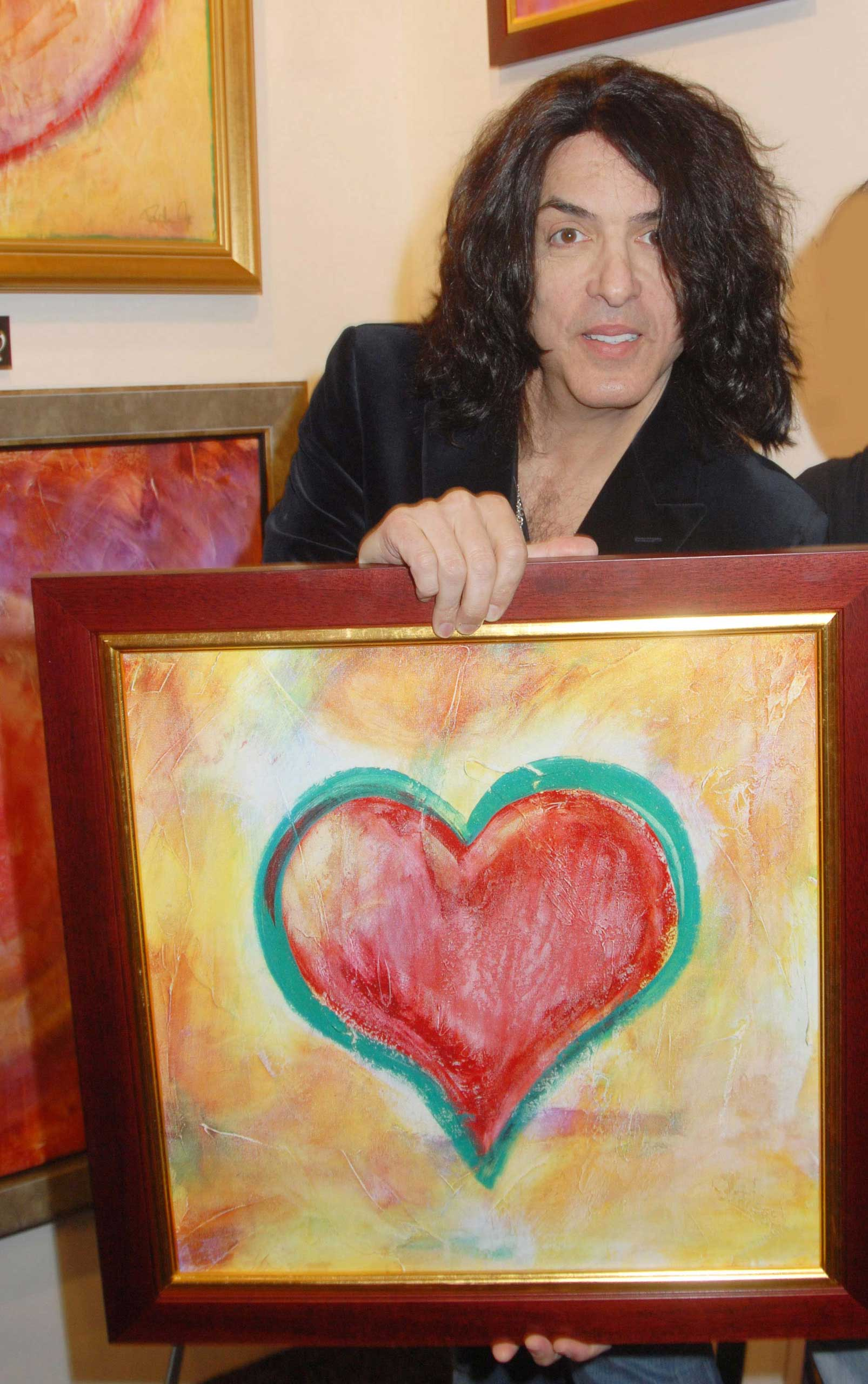 This one was by Paul Stanley of Kiss.
