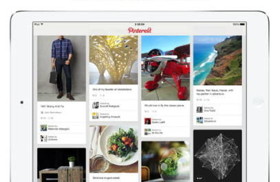 <strong>Pinterest.</strong> Pinterest, the web's most popular pin board, makes for a great couch companion. Pass the time browsing your friends' pins, or pin things from around the web for projects or vacation ideas that you'd like to revisit later.
