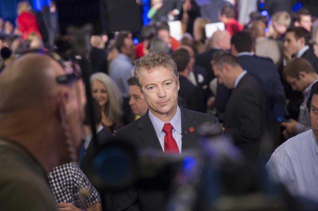 U.S. Sen. Rand Paul in Louisville, Ky. on Nov. 4, 2014.