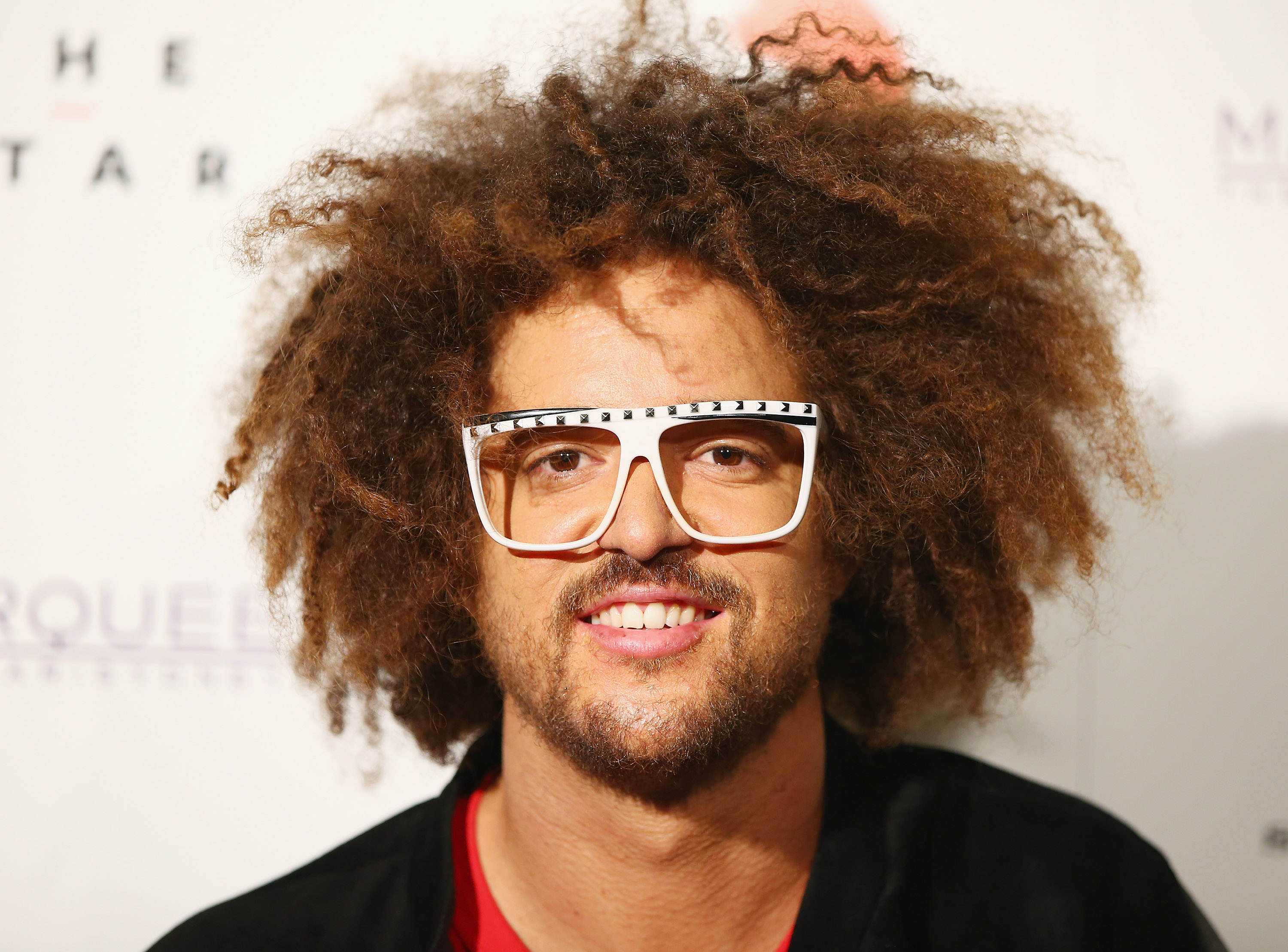 Redfoo poses at Marquee Nightclub on Aug. 12, 2014 in Sydney.