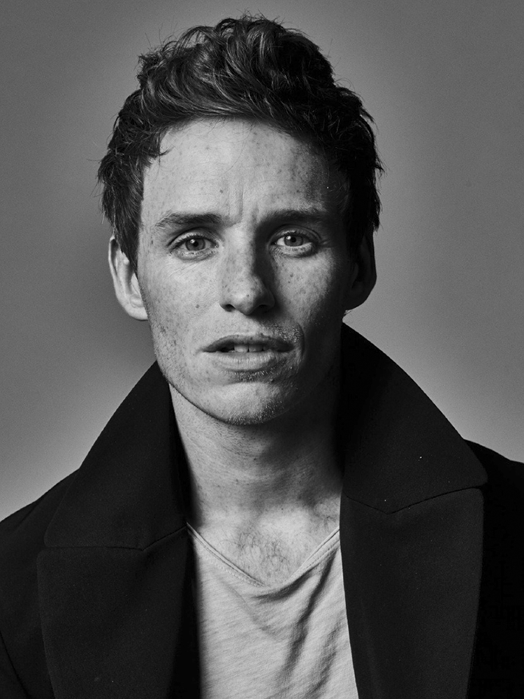 Eddie Redmayne. From  Let's Get Physicist.  November 10, 2014 issue.